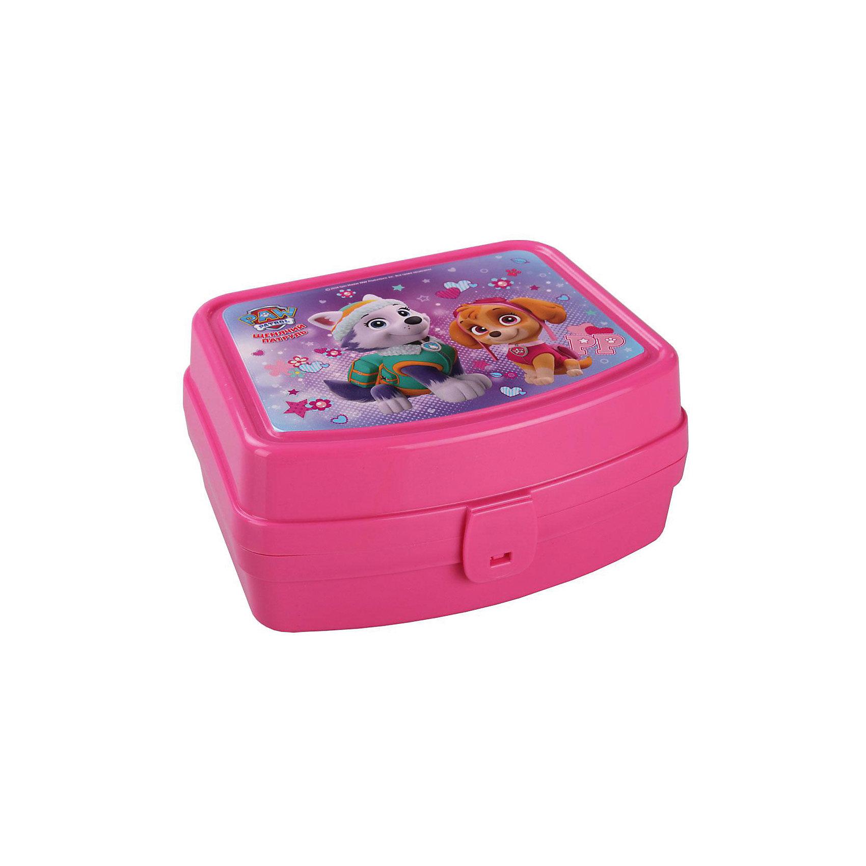 Шкатулка игрушечная Щенячий патруль, AlternativaПредметы интерьера<br>Шкатулка игрушечная Щенячий патруль, Alternativa.<br><br>Характеристики:<br><br>• Для детей в возрасте: от 3 до 7 лет<br>• Материал: пластик<br>• Цвет: розовый<br>• Размер: 16,5х13,5х8 см.<br>• Вес: 139 гр.<br><br>Яркая прямоугольная шкатулка с изображением щенков-спасателей из мультсериала Щенячий патруль порадует Вашего ребенка. Она отлично подойдет для хранения самых ценных вещей малышки. Шкатулка изготовлена из безопасного пластика, плотно закрывается крышкой с удобным замком. Она компактна, не занимает много места. Соответствует требованиям безопасности и стандартам качества продукции.<br><br>Шкатулку игрушечную Щенячий патруль, Alternativa можно купить в нашем интернет-магазине.<br><br>Ширина мм: 165<br>Глубина мм: 135<br>Высота мм: 80<br>Вес г: 139<br>Возраст от месяцев: 36<br>Возраст до месяцев: 216<br>Пол: Женский<br>Возраст: Детский<br>SKU: 5614416