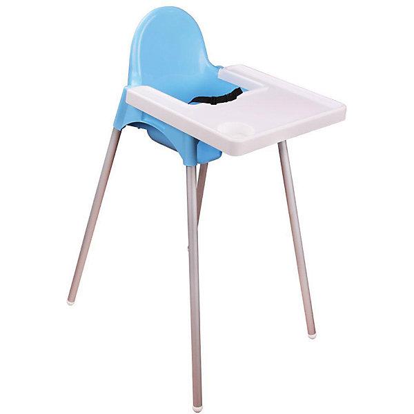 Стульчик для кормления, Alternativa, голубойСтульчики для кормления<br>Стульчик для кормления, Alternativa, голубой.<br><br>Характеристики:<br><br>• Для детей в возрасте: от 6 месяцев до 3 лет<br>• Длина: 615 мм.<br>• Ширина: 510 мм.<br>• Высота: 910 мм.<br>• Вес: 1719 гр.<br>• Материал: пластик, металл<br>• Цвет: голубой, белый<br><br>Высокий стульчик для кормления позволяет малышу сидеть за общим столом и учиться есть самостоятельно. Стульчик имеет высокую прямую спинку, удобные подлокотники. Пластиковый разделитель между ножек предотвращает свободное выскальзывание ребенка. Стульчик оснащен ремнем безопасности. Съемная столешница снабжена углублением для стаканчика и бортиками. Металлические ножки с пластиковыми заглушками устойчиво фиксируют стульчик на поверхности пола. Стульчик изготовлен из качественных прочных материалов, имеет обтекаемую форму..<br><br>Стульчик для кормления, Alternativa, голубой можно купить в нашем интернет-магазине.<br><br>Ширина мм: 615<br>Глубина мм: 510<br>Высота мм: 910<br>Вес г: 1712<br>Цвет: голубой<br>Возраст от месяцев: 72<br>Возраст до месяцев: 36<br>Пол: Мужской<br>Возраст: Детский<br>SKU: 5614418