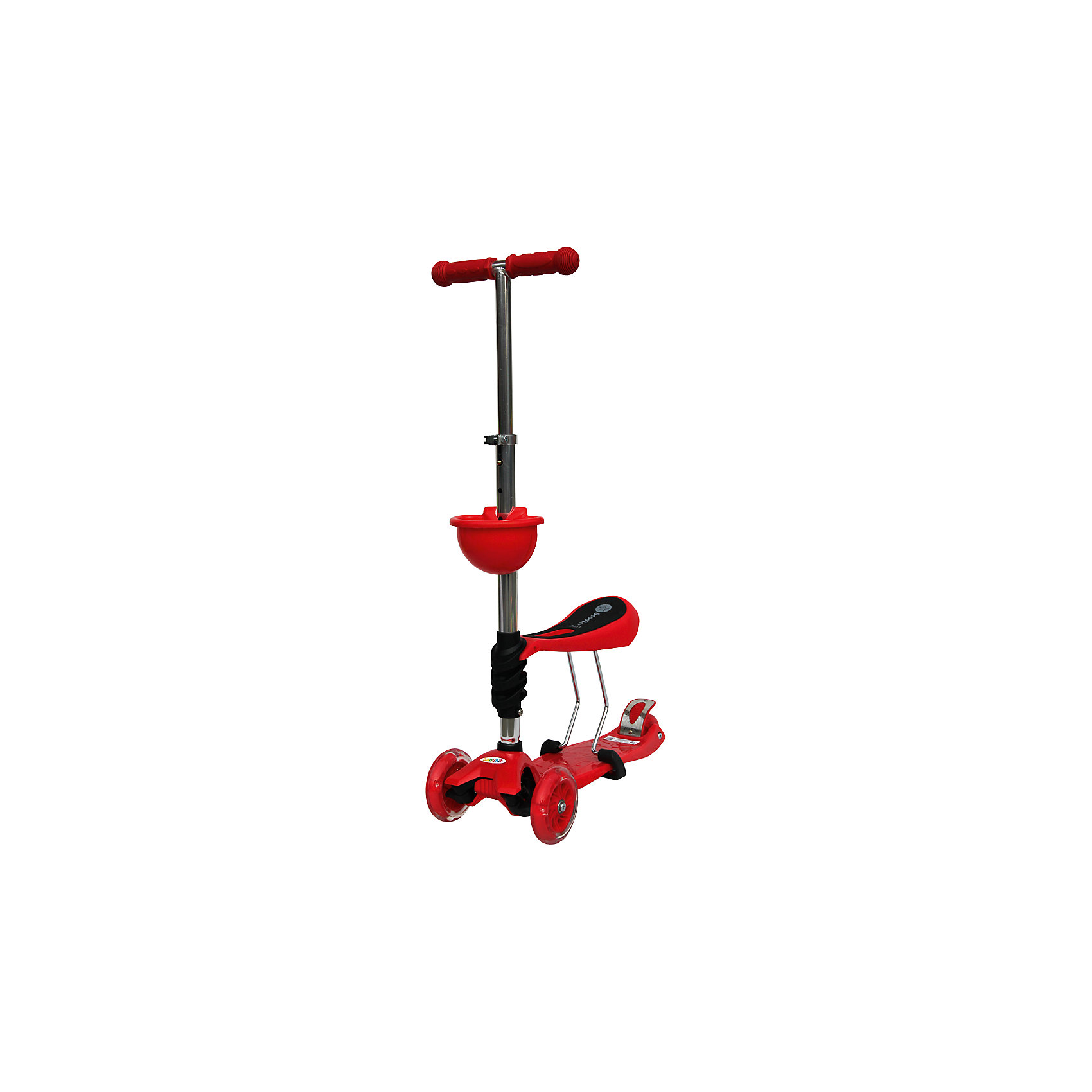 Самокат, красный, ScooterOK TolocarСамокаты<br>Особенности самоката-толокара Babyhit ScooterOk Tolocar:<br>• Для детей от 3-х лет<br>• Регулируемая по высоте ручка (от 65 до 90 см) <br>• Силиконовые колеса со светодиодной подсветкой<br>• Задние сдвоенные колеса для большей устойчивости<br>• Съемное сидение, превращающее самокат в толокар (на высоте 40 см)<br>• Корзинка для мелочей<br>• Усиленная платформа <br>• Высокое качество применяемых материалов<br>• Диаметр колес: передние – 120 мм, задние – 80 мм<br>• Максимальная нагрузка - до 40 кг<br><br>Ширина мм: 600<br>Глубина мм: 145<br>Высота мм: 280<br>Вес г: 3660<br>Цвет: желтый<br>Возраст от месяцев: 36<br>Возраст до месяцев: 2147483647<br>Пол: Унисекс<br>Возраст: Детский<br>SKU: 5614427