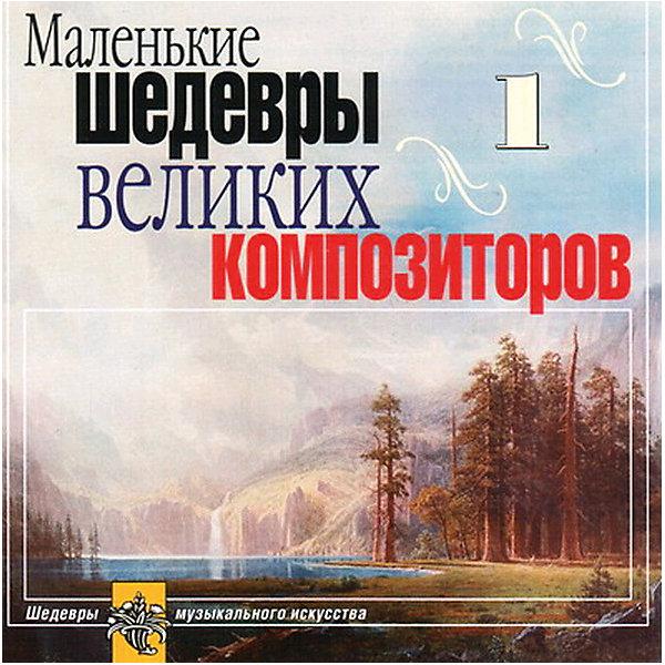 CD Маленькие шедевры великие композиторы №1Аудиокниги, DVD и CD<br>Характеристики товара:<br><br>• размер упаковки: 12,5х10х14,2 см;<br>• вес: 79 грамм.<br><br>CD «Маленькие шедевры великих композиторов №1» отлично подойдет тем, кто только недавно открыл для себя мир классической музыки. Диск содержит музыкальные фрагменты произведений и небольшие музыкальные пьесы. Издание познакомит слушателей с произведениями И. Брамса, С. Рахманинова, Ф. Шопена и многих других композиторов.<br><br>CD Маленькие шедевры великих композиторов №1 можно купить в нашем интернет-магазине.<br><br>Ширина мм: 142<br>Глубина мм: 100<br>Высота мм: 125<br>Вес г: 79<br>Возраст от месяцев: 36<br>Возраст до месяцев: 2147483647<br>Пол: Унисекс<br>Возраст: Детский<br>SKU: 5614917