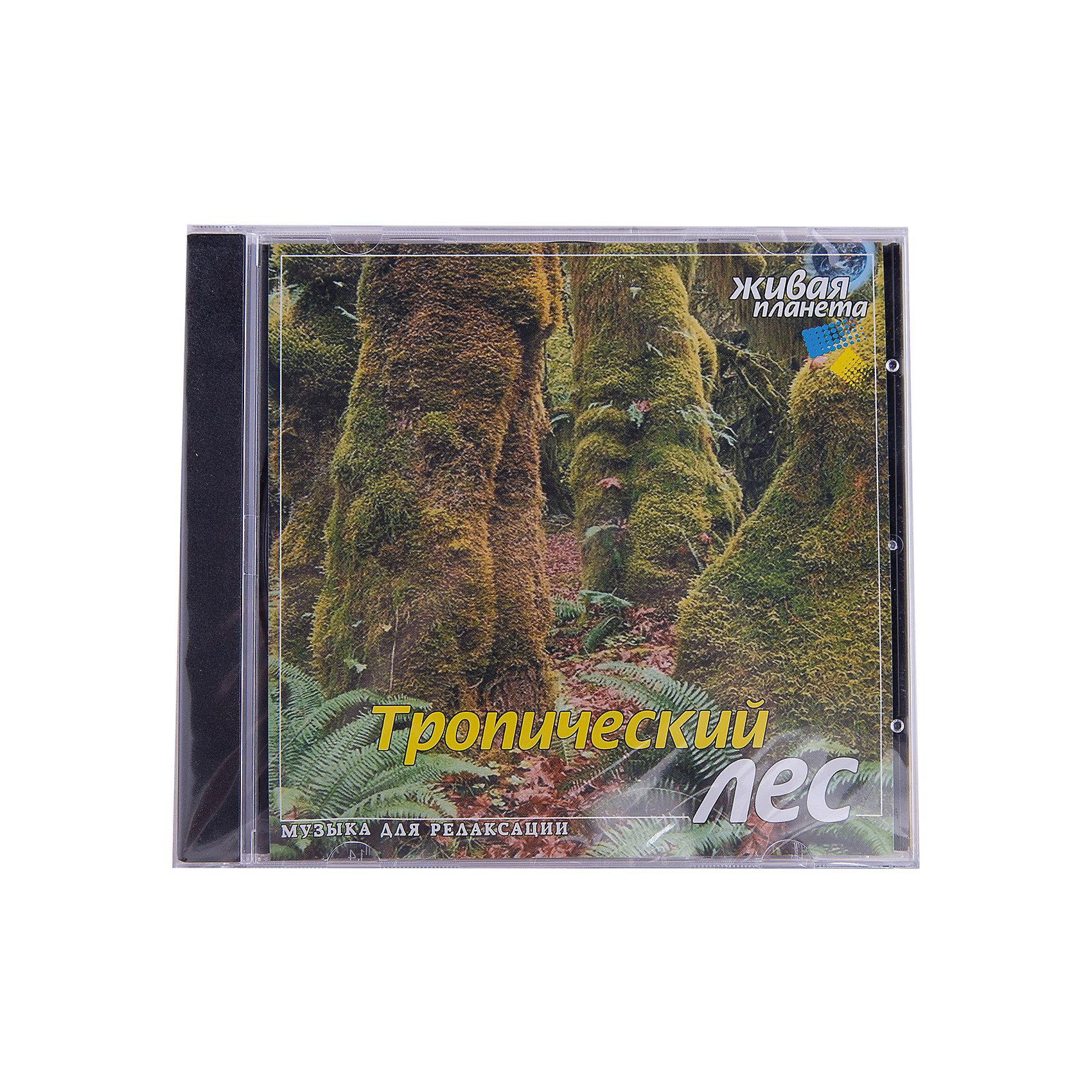 CD Тропический лесБи Смарт<br>Характеристики товара:<br><br>• размер упаковки: 12,5х10х14,2 см;<br>• вес: 79 грамм.<br><br>Звуки тропических джунглей доставят ни с чем не сравнимое удовольствие. Шелест пальм, рык и крики тропических хищников можно услышать, прослушав диск «Тропический лес». Эти прекрасные звуки помогут расслабиться и представить себя в чаще жарких тропиков.<br><br>CD Тропический лес  можно купить в нашем интернет-магазине.<br><br>Ширина мм: 142<br>Глубина мм: 100<br>Высота мм: 125<br>Вес г: 79<br>Возраст от месяцев: 36<br>Возраст до месяцев: 2147483647<br>Пол: Унисекс<br>Возраст: Детский<br>SKU: 5614925