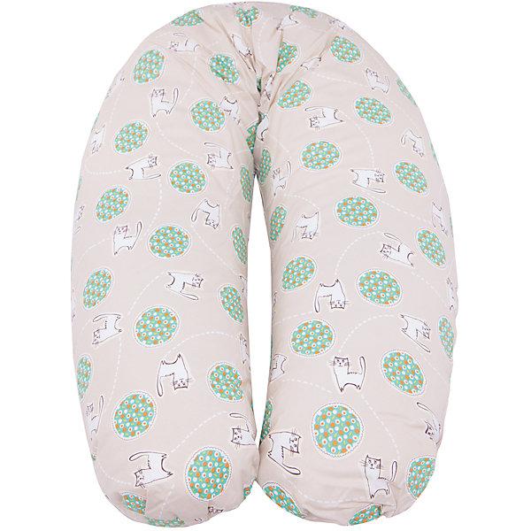 Подушка для беременных Аура, 190х37см., La Armada, холлофайбер, котикиПодушки для беременных и кормящих мам<br>Подушка для беременных Аура, 190х37см., La Armada (Ла Армада), холлофайбер, котики<br><br>Характеристики:<br><br>• мягкая и удобная<br>• наполнитель: 100% полиэфирное волокно<br>• материал чехла: хлопок<br>• материал наволочки: перкаль (100% хлопок)<br>• длина по внешнему краю: 190 см<br>• ширина: 37 см<br>• упаковка: сумка-чемодан<br>• размер упаковки: 40х17х70 см<br>• вес: 2 кг<br>• расцветка: котики<br><br>Чтобы беременность приносила только приятные эмоции, женщине нужно отдыхать с комфортом. Подушка Аура поможет расслабиться и отдохнуть в любой удобной позе. Вы можете положить подушку под голову, под поясницу или обнять ее, удобно расположив животик. Подушка отлично подойдет для отдыха, кормления малыша и сна. Чехол и наволочка подушки изготовлены из качественного хлопка. Наволочка из перкаля имеет молнию и снимается при необходимости. Подушку можно стирать при температуре 40 градусов и гладить. <br><br>Подушку для беременных Аура, 190х37см., La Armada (Ла Армада), холлофайбер, котики вы можете купить в нашем интернет-магазине.<br><br>Ширина мм: 700<br>Глубина мм: 170<br>Высота мм: 400<br>Вес г: 2000<br>Возраст от месяцев: 216<br>Возраст до месяцев: 600<br>Пол: Унисекс<br>Возраст: Детский<br>SKU: 5618062