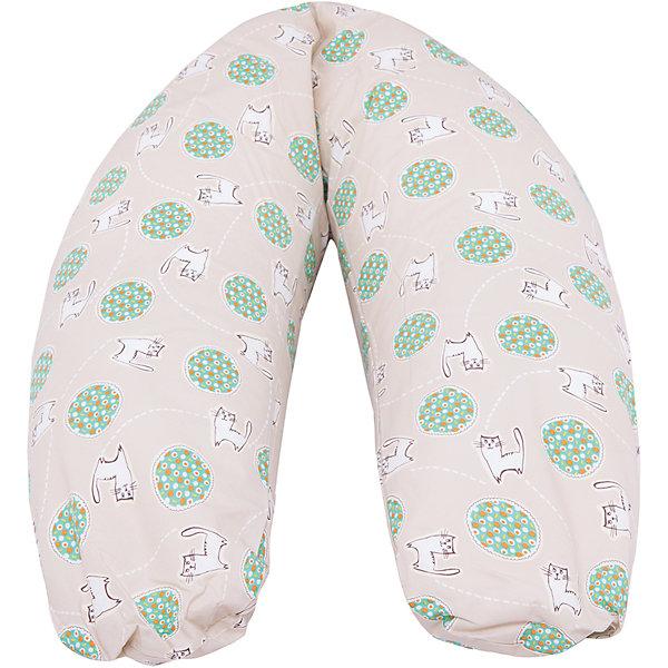 Подушка для беременных Аура,190х37см, La Armada, полистирол, котикиПодушки для беременных и кормящих мам<br>Подушка для беременных Аура, 190х37см,La Armada (Ла Армада), полистирол, котики<br><br>Характеристики:<br><br>• мягкая и удобная<br>• съемная наволочка на молнии<br>• наполнитель: полистирол (шарики пищевого назначения)<br>• материал чехла: хлопок<br>• материал наволочки: перкаль (100% хлопок)<br>• длина по внешнему краю: 190 см<br>• ширина: 37 см<br>• упаковка: сумка-чемодан<br>• размер упаковки: 40х17х70 см<br>• вес: 2 кг<br>• цвет: котики <br><br>Подушка для беременных Аура равномерно поддерживает живот и спину во время отдыха. Она позволит вам расслабиться и комфортно отдохнуть в важный период ожидания малыша. На поздних сроках беременности женщине часто приходится спать на боку. Подушку Аура можно обнять, чтобы сон на боку был удобным и комфортным. Кроме того, вы можете положить подушку под голову или под поясницу. После родов подушку удобно использовать для кормления малыша. Она поможет снять нагрузку с мышц спины и плеч. Наволочка изготовлена из перкаля, не вызывающего раздражения на коже. Подушка подходит для глажки и стирки при температуре 40 градусов.<br><br>Подушку для беременных Аура, 190х37см,La Armada (Ла Армада), полистирол, котики вы можете купить в нашем интернет-магазине.<br><br>Ширина мм: 700<br>Глубина мм: 170<br>Высота мм: 400<br>Вес г: 2000<br>Возраст от месяцев: 216<br>Возраст до месяцев: 600<br>Пол: Унисекс<br>Возраст: Детский<br>SKU: 5618077