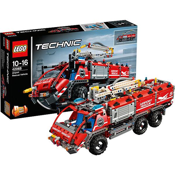 LEGO Technic 42068: Автомобиль спасательной службыКонструкторы Лего<br>Характеристики товара: <br><br>• возраст: от 10 лет;<br>• материал: пластик;<br>• в комплекте: 1094 детали;<br>• длина собранной машины: 45 см;<br>• размер упаковки: 48х28,2х9,1 см;<br>• вес упаковки: 1,1 кг;<br>• страна производитель: Чехия.<br><br>Конструктор Lego Technic «Автомобиль спасательной службы» позволит собрать транспортное средство спасателей. Благодаря колесам машина может ездить. У нее подвижные боковые зеркала. На крыше расположена подвижная стрела для тушения пожаров.<br><br>Конструктор Lego Technic «Автомобиль спасательной службы» можно приобрести в нашем интернет-магазине.<br><br>Ширина мм: 483<br>Глубина мм: 286<br>Высота мм: 96<br>Вес г: 1584<br>Возраст от месяцев: 120<br>Возраст до месяцев: 192<br>Пол: Мужской<br>Возраст: Детский<br>SKU: 5619962