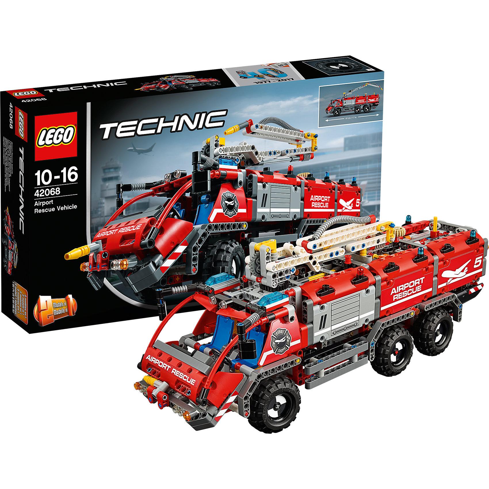 LEGO Technic 42068: Автомобиль спасательной службыПластмассовые конструкторы<br><br><br>Ширина мм: 482<br>Глубина мм: 284<br>Высота мм: 99<br>Вес г: 1577<br>Возраст от месяцев: 120<br>Возраст до месяцев: 192<br>Пол: Мужской<br>Возраст: Детский<br>SKU: 5619962