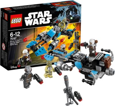 LEGO Конструктор Lego Star Wars 75167: Спидер охотника за головами фото-1