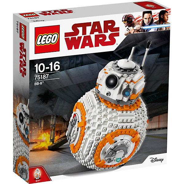 LEGO STAR WARS 75187: ВВ-8™Звездные войны<br><br><br>Ширина мм: 379<br>Глубина мм: 352<br>Высота мм: 99<br>Вес г: 1335<br>Возраст от месяцев: 120<br>Возраст до месяцев: 192<br>Пол: Мужской<br>Возраст: Детский<br>SKU: 5619976