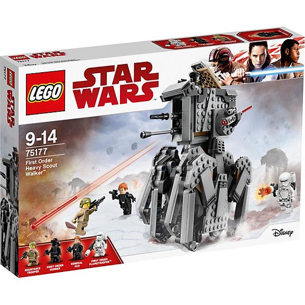 LEGO STAR WARS 75177: Тяжелый разведывательный шагоход Первого ОрденаЗвездные войны<br><br>Ширина мм: 384; Глубина мм: 263; Высота мм: 63; Вес г: 695; Возраст от месяцев: 108; Возраст до месяцев: 168; Пол: Мужской; Возраст: Детский; SKU: 5619978;