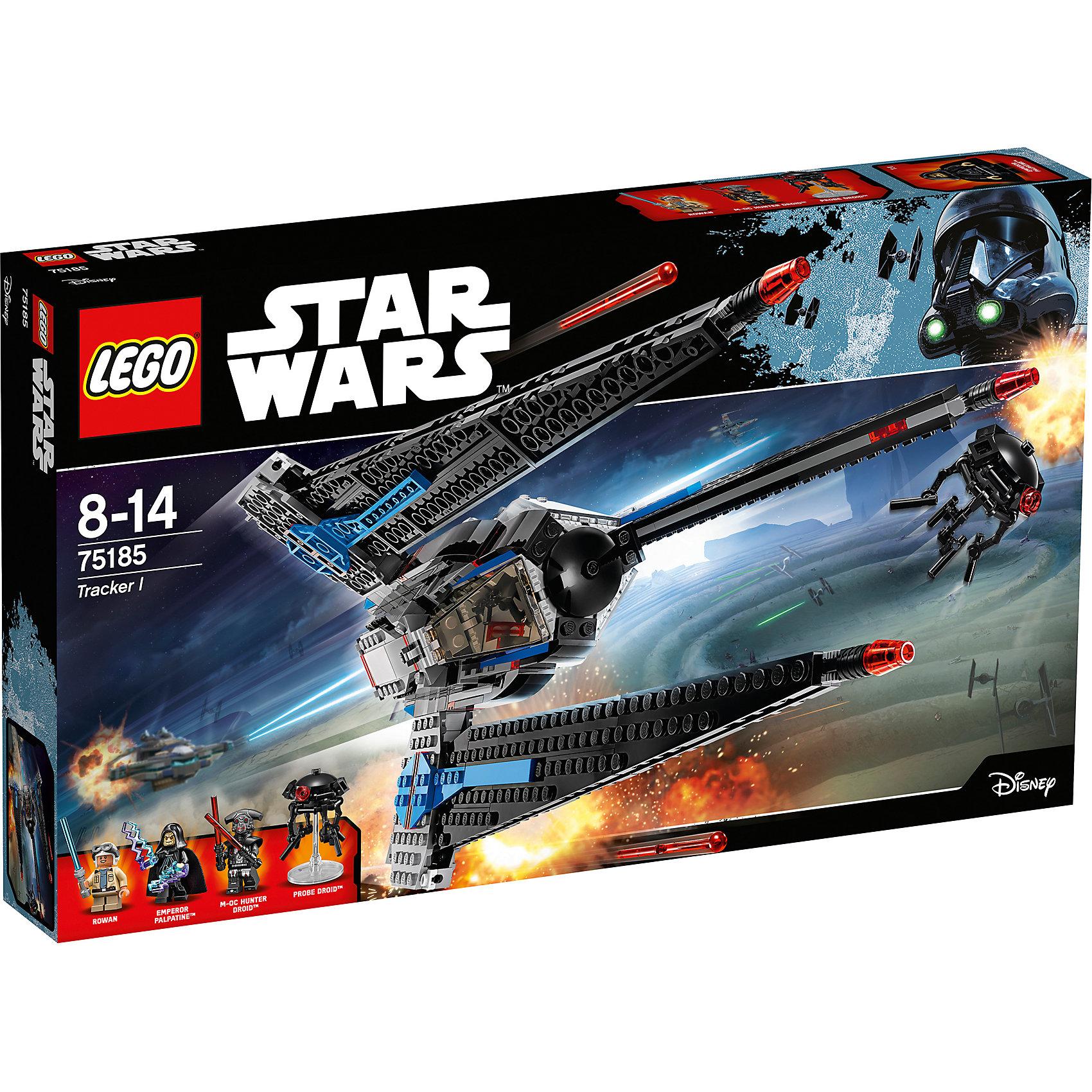 Конструктор Lego Star Wars 75185: Исследователь IПластмассовые конструкторы<br>Характеристики товара:<br><br>• возраст: от 8 лет;<br>• материал: пластик;<br>• в комплекте: 557 деталей;<br>• количество минифигурок: 4;<br>• размер упаковки: 48х28,2х6,1 см;<br>• вес упаковки: 890 гр.;<br>• страна производитель: Чехия.<br><br>Конструктор Lego Star Wars «Исследователь I» создан по мотивам мультсериала «Приключения Фримейкеров». Рован Фримейкер сражается на стороне повстанцев. Он возит на своем корабле Исследователь I боеприпасы. А имперские дроиды ведут охоту на Рована. <br><br>Из элементов конструктора предстоит собрать 4 фигурки персонажей и корабль. Все детали выполнены из качественных безопасных материалов. В процессе сборки конструктора у детей развиваются мелкая моторика рук, усидчивость, логическое мышление.<br><br>Конструктор Lego Star Wars «Исследователь I» можно приобрести в нашем интернет-магазине.<br><br>Ширина мм: 480<br>Глубина мм: 282<br>Высота мм: 61<br>Вес г: 924<br>Возраст от месяцев: 96<br>Возраст до месяцев: 2147483647<br>Пол: Мужской<br>Возраст: Детский<br>SKU: 5619981