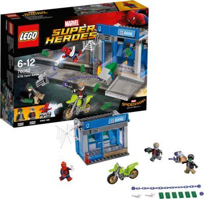 LEGO Конструктор Lego Super Heroes 76082: Ограбление банкомата