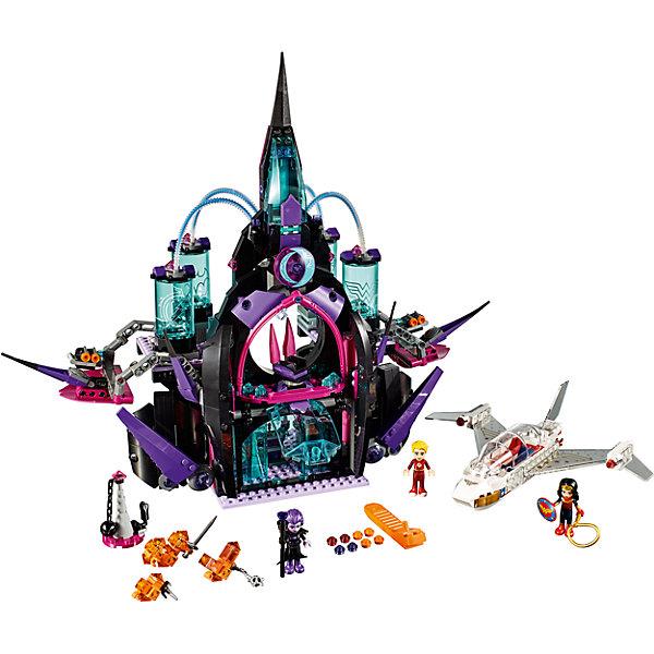 Конструктор Lego DC Super Girls 41239: Тёмный дворец ЭклипсоКонструкторы Лего<br>Характеристики товара:<br><br>• возраст: от 9 лет;<br>• материал: пластик;<br>• в комплекте: 1078 деталей;<br>• количество минифигурок: 3;<br>• размер упаковки: 48х37,8х7,1 см;<br>• вес упаковки: 1,64 кг;<br>• страна производитель: Китай.<br><br>Конструктор Lego DC Super Girls «Темный дворец Эклипсо» создан по мотивам вселенной DC Comics. Из деталей конструктора предстоит собрать фигурки Чудо-Женщины, ее самолета, фигурку Флэша, фигурку злодейки Эклипсо и ее дворец. Дворец оснащен защитными сооружениями и шутерами, стреляющими шипами. <br><br>С персонажами девочка сможет придумать свои собственные сюжеты для игры. Сборка конструктора развивает у детей внимательность, усидчивость, мелкую моторику рук.<br><br>Конструктор Lego DC Super Girls «Темный дворец Эклипсо» можно приобрести в нашем интернет-магазине.<br><br>Ширина мм: 480<br>Глубина мм: 378<br>Высота мм: 71<br>Вес г: 1548<br>Возраст от месяцев: 108<br>Возраст до месяцев: 2147483647<br>Пол: Женский<br>Возраст: Детский<br>SKU: 5620035