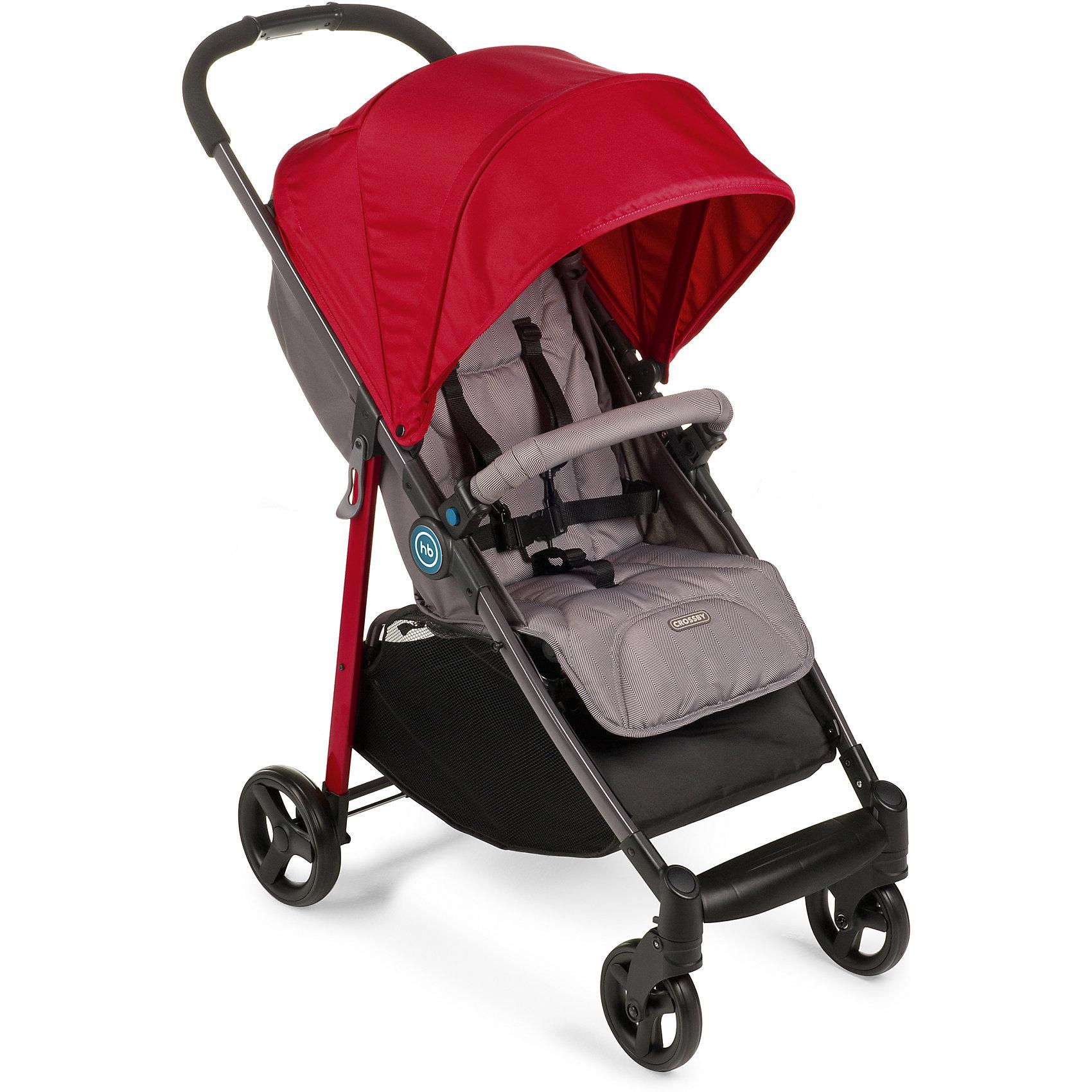 Прогулочная коляска Happy Baby Crossby, красныйПрогулочные коляски для лета<br>Модель CROSSBY создана в минималистичном стиле, при этом сочетая в себе максимально необходимое количество характеристик для комфортных прогулок и путешествий. Благодаря амортизация на передних и задних колесах, CROSSBY способна передвигаться по любой дороге, включая не глубокий снег. Эта всесезонная коляска укомплектована чехлом на ножки, дождевиком и москитной сеткой. Имеет широкое сиденье с возможностью плавной регулировки угла наклона спинки, большой капюшон со смотровым окошком, вместительную корзину для покупок. Обивка коляски выполнена из современных высокотехнологичных тканей, что создает дополнительный комфорт для ребенка и мамы.<br><br>Ширина мм: 830<br>Глубина мм: 210<br>Высота мм: 445<br>Вес г: 10050<br>Возраст от месяцев: 7<br>Возраст до месяцев: 36<br>Пол: Унисекс<br>Возраст: Детский<br>SKU: 5620085