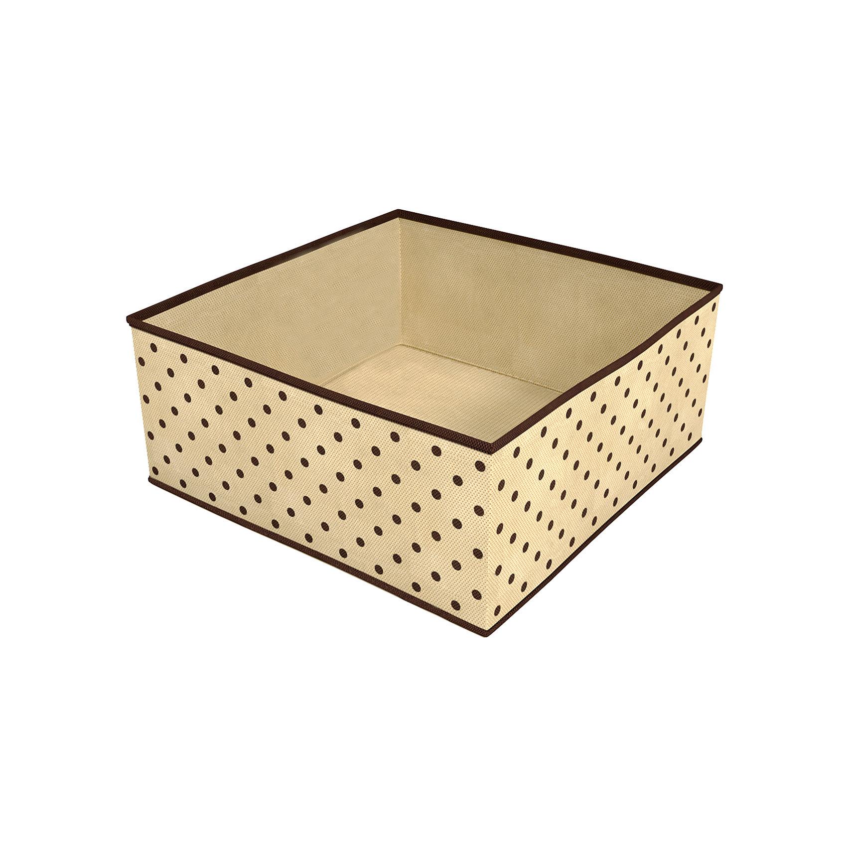 Коробка для хранения вещей (30х30х13 см), HomsuПорядок в детской<br>Характеристики товара:<br><br>• цвет: бежевый<br>• материал: полиэстер, картон<br>• размер: 30х30х13 см<br>• вес: 300 г<br>• легкий прочный каркас<br>• обеспечивает естественную вентиляцию<br>• вместимость: 1 отделение<br>• страна бренда: Россия<br>• страна изготовитель: Китай<br><br>Коробка для хранения вещей от бренда Homsu (Хомсу) - очень удобная вещь для хранения вещей и эргономичной организации пространства.<br><br>Предмет легкий, устойчивый, вместительный, обеспечивает естественную вентиляцию.<br><br>Коробку для хранения вещей (30х30х13 см), Homsu можно купить в нашем интернет-магазине.<br><br>Ширина мм: 550<br>Глубина мм: 150<br>Высота мм: 20<br>Вес г: 300<br>Возраст от месяцев: 216<br>Возраст до месяцев: 1188<br>Пол: Унисекс<br>Возраст: Детский<br>SKU: 5620090