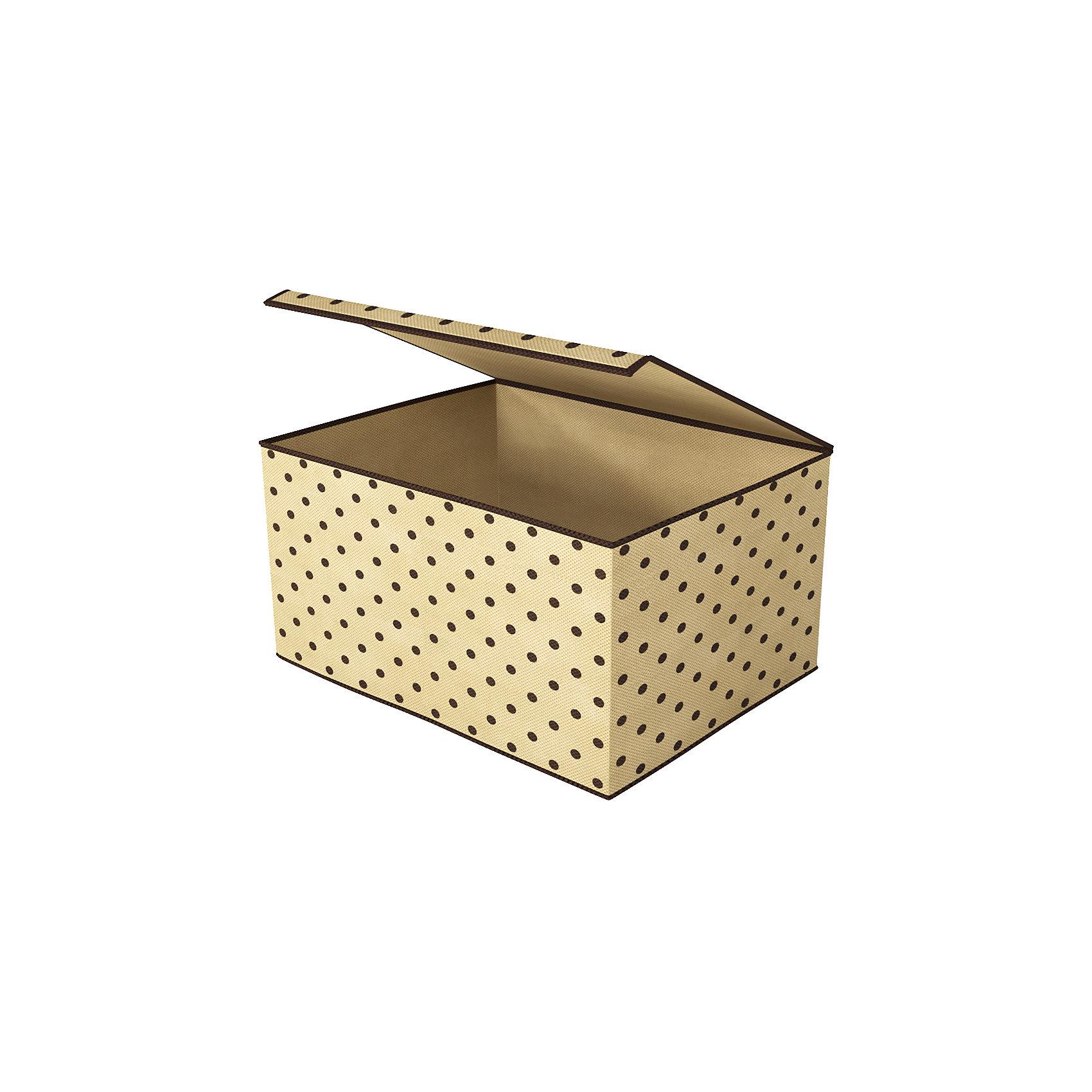 Коробка для хранения вещей с крышкой (25х19х15 см), HomsuПорядок в детской<br>Характеристики товара:<br><br>• цвет: бежевый<br>• материал: полиэстер, картон<br>• размер: 5х19х15 см<br>• вес: 200 г<br>• легкий прочный каркас<br>• есть крышка<br>• вместимость: 1 отделение<br>• страна бренда: Россия<br>• страна изготовитель: Китай<br><br>Коробка для хранения вещей с крышкой (38х25х30 см) от бренда Homsu (Хомсу) - очень удобная вещь для хранения вещей и эргономичной организации пространства.<br><br>Предмет легкий, устойчивый, вместительный, крышка защищает вещи от пыли.<br><br>Коробку для хранения вещей с крышкой (5х19х15 см), Homsu можно купить в нашем интернет-магазине.<br><br>Ширина мм: 250<br>Глубина мм: 190<br>Высота мм: 20<br>Вес г: 200<br>Возраст от месяцев: 216<br>Возраст до месяцев: 1188<br>Пол: Унисекс<br>Возраст: Детский<br>SKU: 5620091
