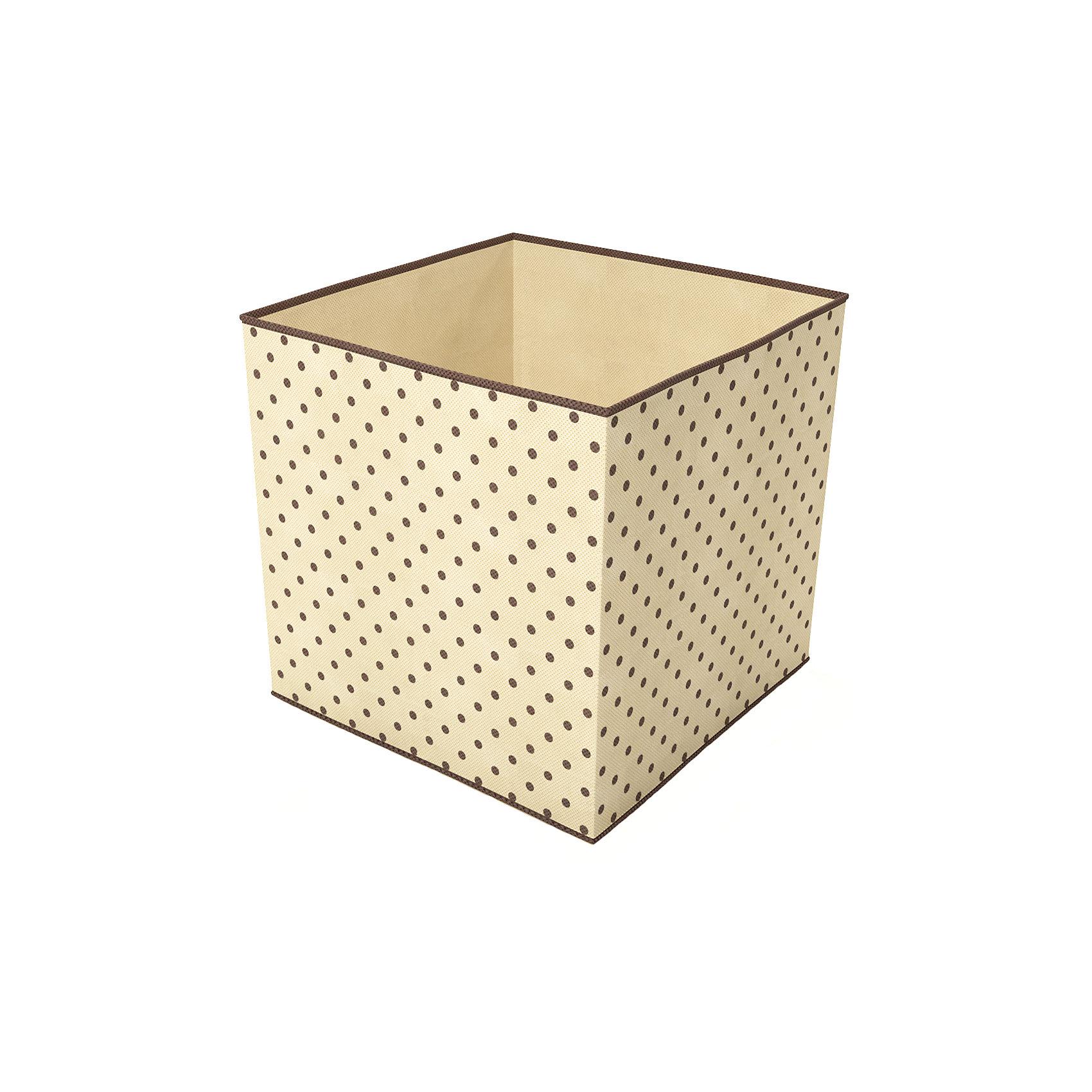 Коробка-куб для хранения вещей (30х30х30 см), HomsuПорядок в детской<br>Характеристики товара:<br><br>• цвет: бежевый<br>• материал: полиэстер, картон<br>• размер: 30х30х30 см<br>• вес: 300 г<br>• легкий прочный каркас<br>• обеспечивает естественную вентиляцию<br>• вместимость: 1 отделение<br>• страна бренда: Россия<br>• страна изготовитель: Китай<br><br>Коробка-куб для хранения вещей (30х30х30 см) от бренда Homsu (Хомсу) - очень удобная вещь для хранения вещей и эргономичной организации пространства.<br><br>Предмет легкий, устойчивый, вместительный, обеспечивает естественную вентиляцию.<br><br>Коробку-куб для хранения вещей (30х30х30 см), Homsu можно купить в нашем интернет-магазине.<br><br>Ширина мм: 300<br>Глубина мм: 300<br>Высота мм: 20<br>Вес г: 400<br>Возраст от месяцев: 216<br>Возраст до месяцев: 1188<br>Пол: Унисекс<br>Возраст: Детский<br>SKU: 5620093