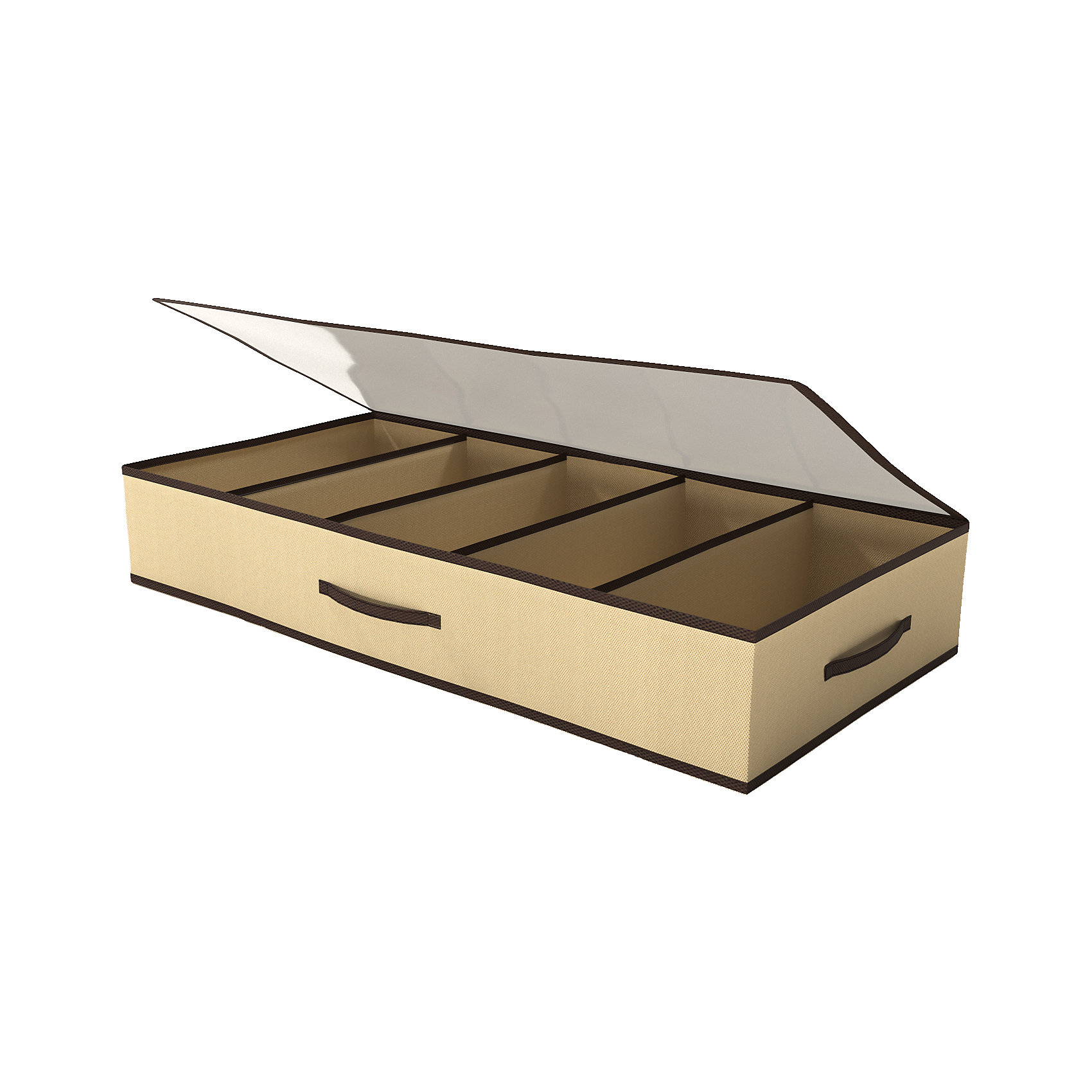 Органайзер для обуви, HomsuПорядок в детской<br>Органайзер для обуви на 5 пар обуви, застегивается на молнию, имеет прозрачную крышку из ПВХ, что позволяет видеть содержимое органайзера. Защищает обувь от пыли и повреждений. Выполнен в универсальной бежево-коричневой расцветке, благодаря чему, гармонично впишется в любой интерьер.<br><br>Ширина мм: 260<br>Глубина мм: 200<br>Высота мм: 20<br>Вес г: 300<br>Возраст от месяцев: 216<br>Возраст до месяцев: 1188<br>Пол: Унисекс<br>Возраст: Детский<br>SKU: 5620099