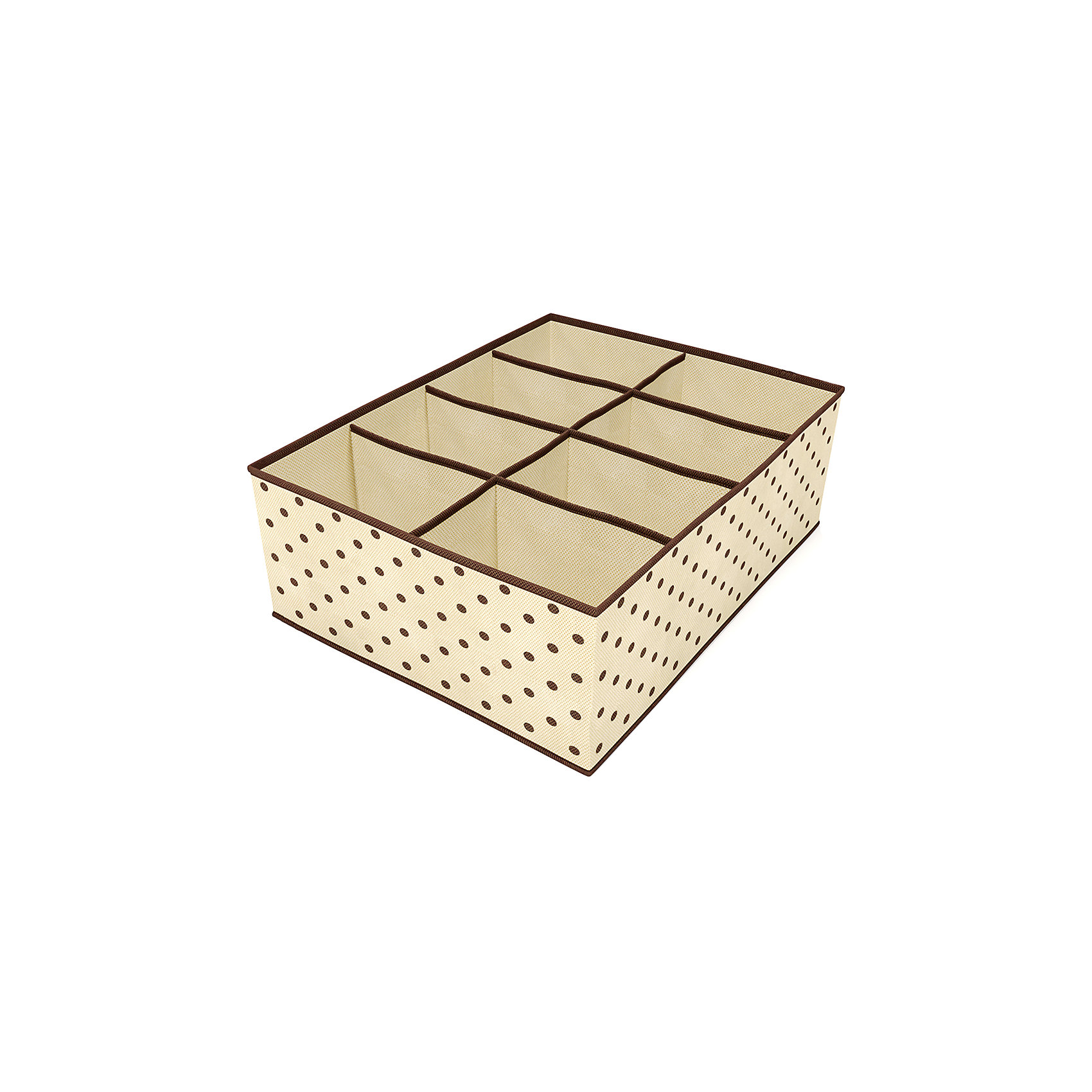 Органайзер для шарфов, ремней, галстуков (8 ячеек), HomsuОрганайзеры для одежды<br>Характеристики товара:<br><br>• цвет: бежевый<br>• материал: полиэстер, картон<br>• размер: 31х24х11 см<br>• вес: 100 г<br>• легкий прочный каркас<br>• обеспечивает естественную вентиляцию<br>• вместимость: 8 отделений<br>• страна бренда: Россия<br>• страна изготовитель: Китай<br><br>Органайзер для шарфов, ремней, галстуков (8 ячеек) от бренда Homsu (Хомсу) - очень удобная вещь для хранения вещей и эргономичной организации пространства.<br><br>Предмет легкий, устойчивый, вместительный, обеспечивает естественную вентиляцию.<br><br>Органайзер для шарфов, ремней, галстуков (8 ячеек), Homsu можно купить в нашем интернет-магазине.<br><br>Ширина мм: 530<br>Глубина мм: 110<br>Высота мм: 20<br>Вес г: 100<br>Возраст от месяцев: 216<br>Возраст до месяцев: 1188<br>Пол: Унисекс<br>Возраст: Детский<br>SKU: 5620101