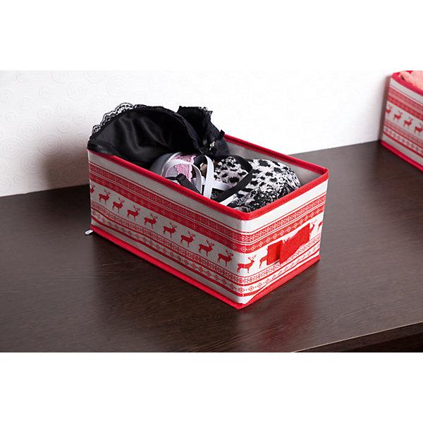 Малый ящик с ручкой Scandinavia (28*14*13), HomsuОрганайзеры для одежды<br>Характеристики товара:<br><br>• цвет: красный<br>• материал: спанбонд, картон, ПВХ<br>• размер: 28х14х13 см<br>• вес: 200 г<br>• легкий прочный каркас<br>• ручка для переноски<br>• вместимость: 1 отделение<br>• страна бренда: Россия<br>• страна изготовитель: Китай<br><br>Малый ящик с ручкой Scandinavia от бренда Homsu (Хомсу) - очень удобная вещь для хранения вещей и эргономичной организации пространства.<br><br>Он легкий, устойчивый, вместительный, имеет удобную ручку для переноски.<br><br>Малый ящик с ручкой Scandinavia (28*14*13), Homsu можно купить в нашем интернет-магазине.<br>Ширина мм: 450; Глубина мм: 150; Высота мм: 20; Вес г: 200; Возраст от месяцев: 216; Возраст до месяцев: 1188; Пол: Унисекс; Возраст: Детский; SKU: 5620163;