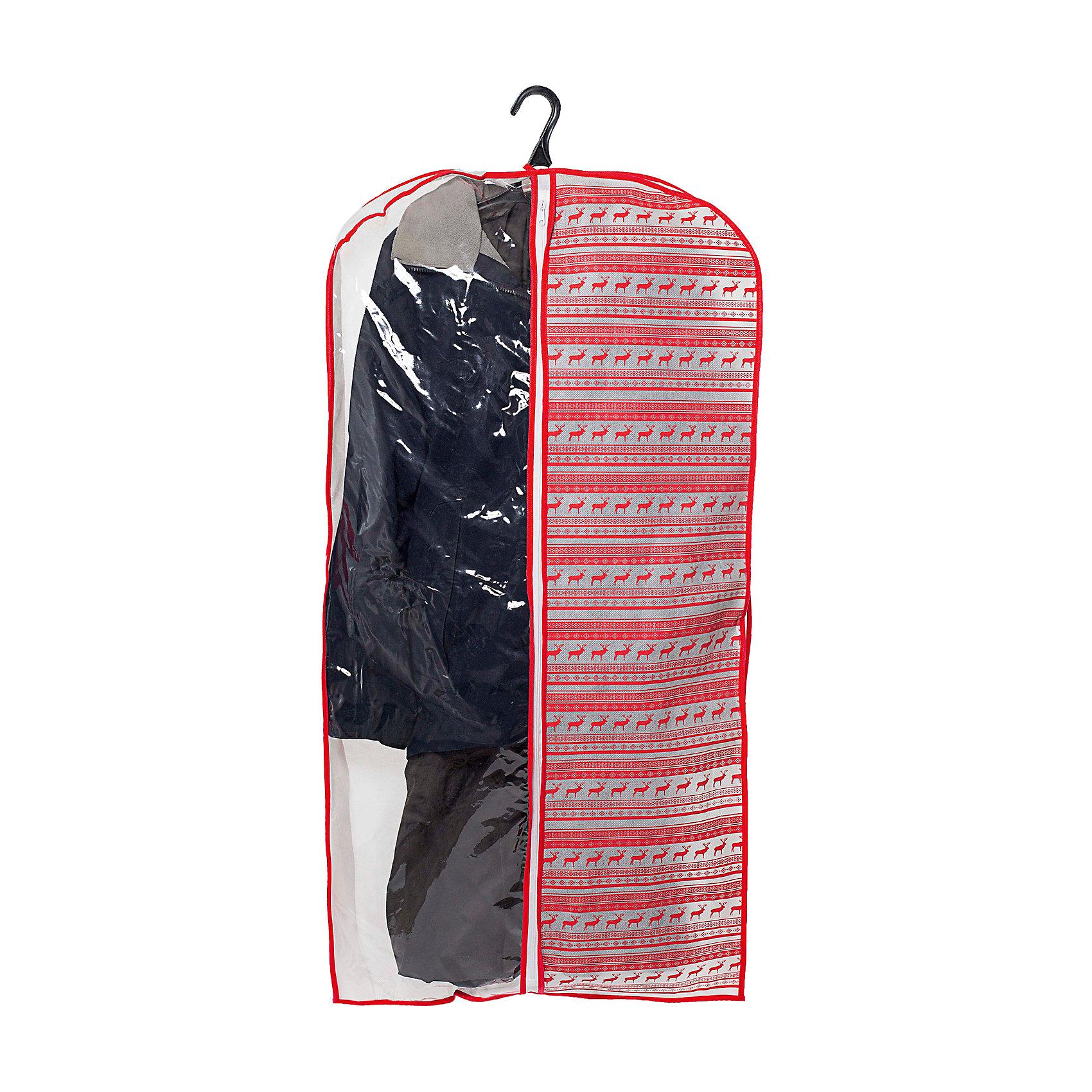 Чехол для одежды 120*60*10 Scandinavia, HomsuПорядок в детской<br>Такой чехол для одежды размером 120Х60Х10см , произведённый в очень оригинальном стиле, поможет полноценно сберечь вашу одежду, как в домашнем хранении, так и во время транспортировки. Благодаря специальному материалу- спанбонду, ваша одежда будет не доступна для моли и не выцветет, а прозрачная половина, выполненная из ПВХ, легко позволит сразу же определить, что конкретно находится внутри. Кроме того, достаточно вместительный объём чехла, легко позволяет разместить в нём большую зимнюю одежду.<br><br>Ширина мм: 260<br>Глубина мм: 200<br>Высота мм: 20<br>Вес г: 100<br>Возраст от месяцев: 216<br>Возраст до месяцев: 1188<br>Пол: Унисекс<br>Возраст: Детский<br>SKU: 5620169