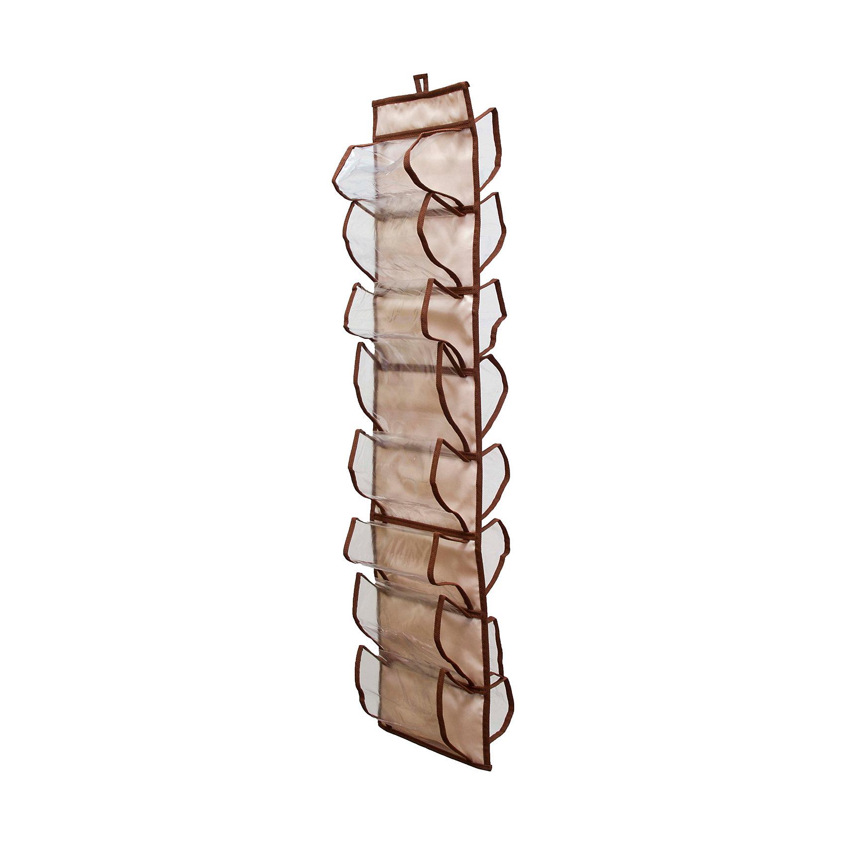 Органайзер для колготок, шарфов и мелочей Bora-Bora, HomsuПорядок в детской<br>Подвесной двусторонний органайзер имеет 16 раздельных ячеек размером 8Х15см, очень удобен для хранения мелких вещей в вашем шкафу. Идеально для колготок, шарфов, мелочей и других вещей ежедневного пользования.<br><br>Ширина мм: 300<br>Глубина мм: 220<br>Высота мм: 20<br>Вес г: 200<br>Возраст от месяцев: 216<br>Возраст до месяцев: 1188<br>Пол: Унисекс<br>Возраст: Детский<br>SKU: 5620197