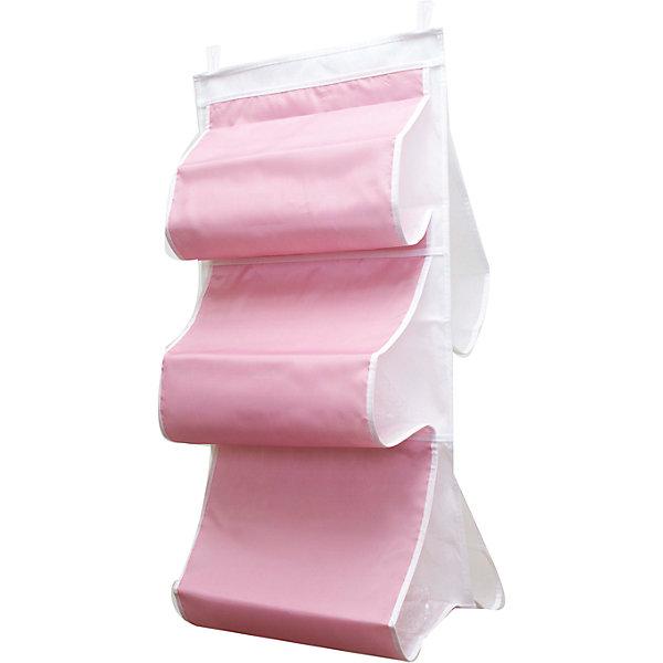 Органайзер для сумок в шкаф Capri, HomsuОрганайзеры для одежды<br>Характеристики товара:<br><br>• цвет: розовый<br>• материал: полиэстер<br>• размер: 70х40х2 см.<br>• вес: 300 гр.<br>• застежка: молния<br>• крепление: крючок<br>• ручка для переноски<br>• вместимость: 5 отделений<br>• страна бренда: Россия<br>• страна изготовитель: Китай<br><br>Органайзер для сумок в шкаф Capri, Homsu (Хомсу) - очень удобная вещь для хранения вещей и эргономичной организации пространства.<br><br>Он состоит из пяти отделений, легко крепится на стену, дверь или внутрь шкафов.<br><br>Органайзер для сумок в шкаф Capri, Homsu можно купить в нашем интернет-магазине.<br><br>Ширина мм: 450<br>Глубина мм: 300<br>Высота мм: 20<br>Вес г: 300<br>Возраст от месяцев: 216<br>Возраст до месяцев: 1188<br>Пол: Унисекс<br>Возраст: Детский<br>SKU: 5620211