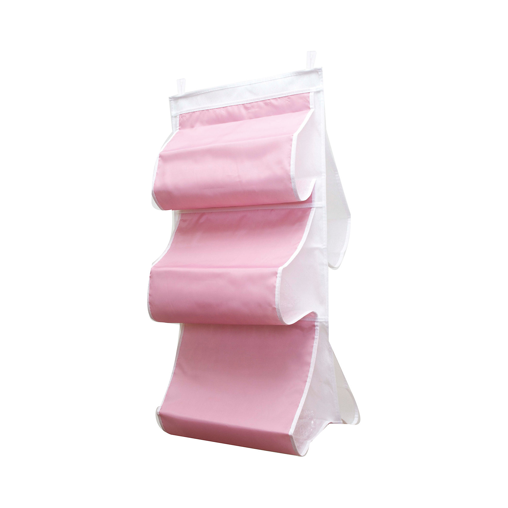 Органайзер для сумок в шкаф Capri, HomsuПорядок в детской<br>Характеристики товара:<br><br>• цвет: розовый<br>• материал: полиэстер<br>• размер: 70х40х2 см.<br>• вес: 300 гр.<br>• застежка: молния<br>• крепление: крючок<br>• ручка для переноски<br>• вместимость: 5 отделений<br>• страна бренда: Россия<br>• страна изготовитель: Китай<br><br>Органайзер для сумок в шкаф Capri, Homsu (Хомсу) - очень удобная вещь для хранения вещей и эргономичной организации пространства.<br><br>Он состоит из пяти отделений, легко крепится на стену, дверь или внутрь шкафов.<br><br>Органайзер для сумок в шкаф Capri, Homsu можно купить в нашем интернет-магазине.<br><br>Ширина мм: 450<br>Глубина мм: 300<br>Высота мм: 20<br>Вес г: 300<br>Возраст от месяцев: 216<br>Возраст до месяцев: 1188<br>Пол: Унисекс<br>Возраст: Детский<br>SKU: 5620211
