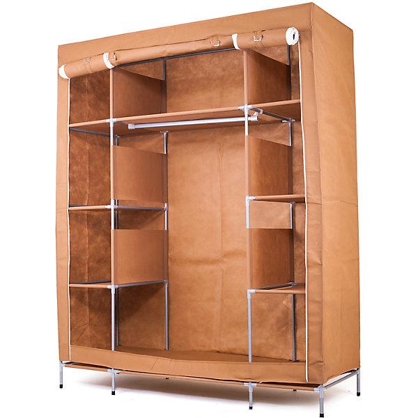 Тканевый шкаф Маджорити, Homsu, коричневыйОрганайзеры для одежды<br>Характеристики товара:<br><br>• цвет: коричневый<br>• материал: металл, пластик, текстиль<br>• размер: 140х50х175 см<br>• вес: 6 кг<br>• легко разбирается и собирается<br>• тканевую оболочку можно стирать<br>• вместимость: 8 отделений 35х50 см, полка 70х50 см, отделение 120х70 см<br>• страна бренда: Россия<br>• страна изготовитель: Китай<br><br>Тканевый шкаф Маджорити, Homsu (Хомсу) - очень удобная вещь для хранения вещей и эргономичной организации пространства.<br><br>Он состоит из десяти отделений, легко собирается и разбирается, съемную тканевую обивку легко чистить.<br><br>Тканевый шкаф Маджорити, Homsu можно купить в нашем интернет-магазине.<br>Ширина мм: 650; Глубина мм: 350; Высота мм: 110; Вес г: 6000; Возраст от месяцев: 216; Возраст до месяцев: 1188; Пол: Унисекс; Возраст: Детский; SKU: 5620245;