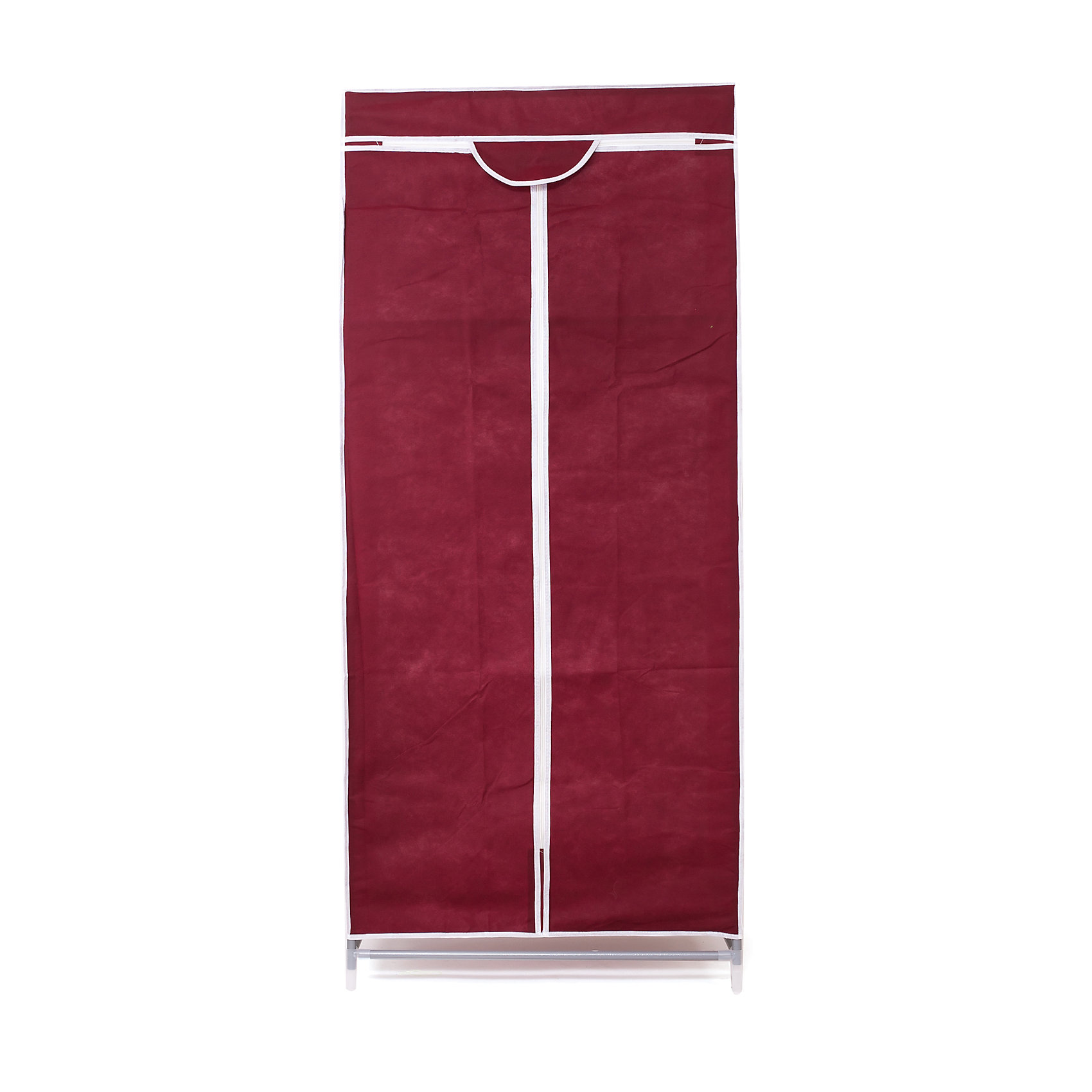Тканевый шкаф Кармэн, Homsu, бордовыйПорядок в детской<br>Характеристики товара:<br><br>• цвет: бордовый<br>• материал: металл, пластик, текстиль<br>• размер: 68х45х145 см<br>• вес: 3 кг<br>• застежка: молния<br>• твердый каркас<br>• вместимость: полка и перекладина для подвешивания<br>• страна бренда: Россия<br>• страна изготовитель: Китай<br><br>Тканевый шкаф Кармэн, Homsu (Хомсу) - очень удобная вещь для хранения вещей и эргономичной организации пространства.<br><br>Он состоит из двух отделений, материал помогает защитить вещи от пыли и влаги.<br><br>Тканевый шкаф Кармэн, Homsu можно купить в нашем интернет-магазине.<br><br>Ширина мм: 650<br>Глубина мм: 260<br>Высота мм: 70<br>Вес г: 3000<br>Возраст от месяцев: 216<br>Возраст до месяцев: 1188<br>Пол: Унисекс<br>Возраст: Детский<br>SKU: 5620246