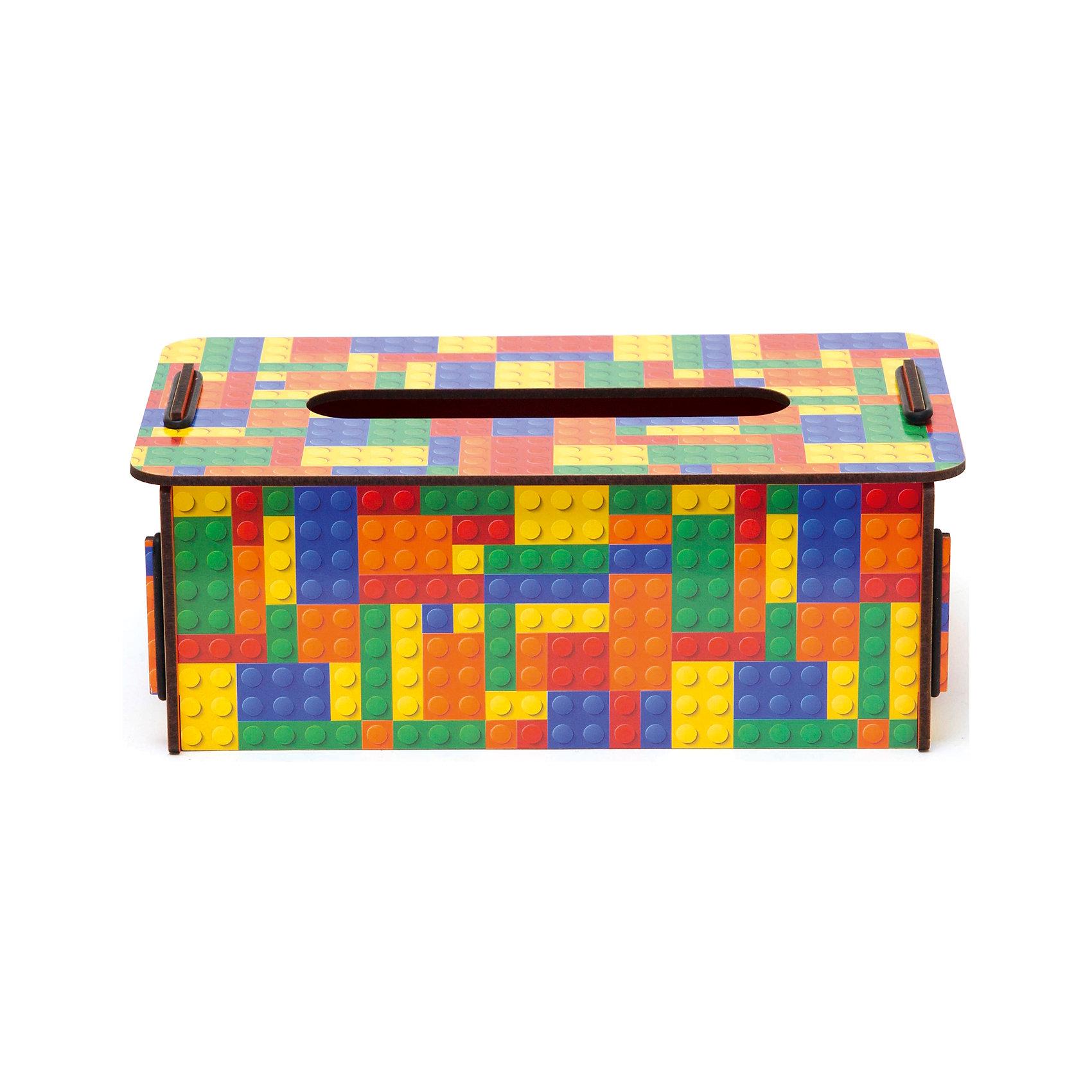 Органайзер для салфеток Тетрис, HomsuПредметы интерьера<br>Оригинальная коробочка представляет собой ящик, изготовленный из МДФ и легко собирающийся, который можно использовать как органайзер для салфеток. Благодаря отделению 10Х1,5см коробочка для салфеток отлично будет смотреться дома и придаст интерьеру оригинальный стиль.<br><br>Ширина мм: 150<br>Глубина мм: 260<br>Высота мм: 30<br>Вес г: 400<br>Возраст от месяцев: 216<br>Возраст до месяцев: 1188<br>Пол: Унисекс<br>Возраст: Детский<br>SKU: 5620265