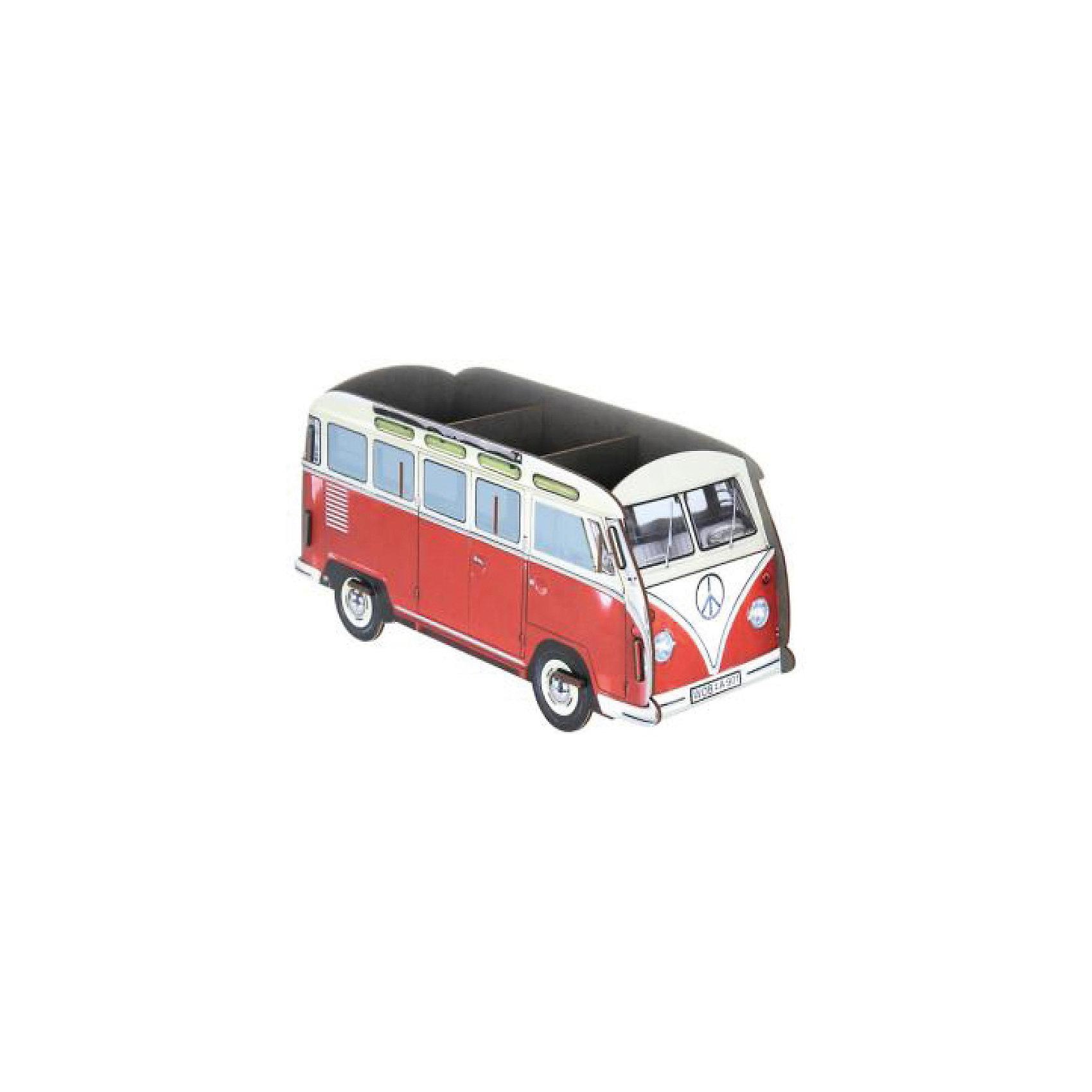 Органайзер на стол Оld bus, HomsuПредметы интерьера<br>Настольный органайзер в виде автобуса – это не только способ хранения косметики и других принадлежностей, но и настоящее украшение интерьера. Органайзер имеет необычный дизайн и множество отделений сверху для хранения предметов ( косметики или канцелярии.<br><br>Ширина мм: 95<br>Глубина мм: 225<br>Высота мм: 42<br>Вес г: 500<br>Возраст от месяцев: 216<br>Возраст до месяцев: 1188<br>Пол: Унисекс<br>Возраст: Детский<br>SKU: 5620273