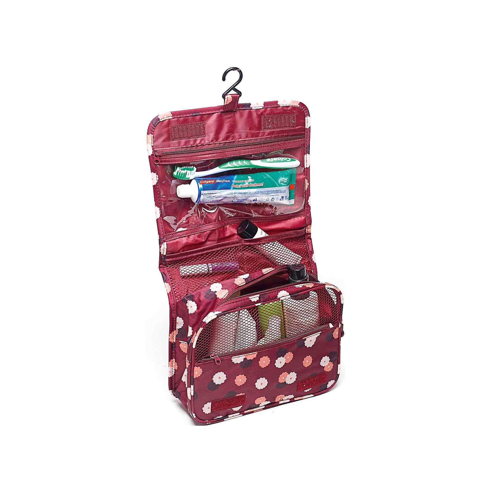 Органайзер в ванную подвесной Цветок, Homsu, бордовыйВанная комната<br>Характеристики товара:<br><br>• цвет: бордовый<br>• материал: металл, сетка, полиэстер<br>• размер: 24х9х18 см<br>• вес: 200 г<br>• застежка: молния, липучка<br>• крепление: крючок<br>• ручка для переноски<br>• вместимость: карманы на молнии, отделения из сетки<br>• страна бренда: Россия<br>• страна изготовитель: Китай<br><br>Органайзер ванную подвесной Цветок от бренда Homsu (Хомсу) - очень удобная вещь для хранения вещей и эргономичной организации пространства.<br><br>Он легкий, вместительный, имеет удобную ручку для переноски, можно использовать как отдельный аксессуар.<br><br>Органайзер в ванную подвесной Цветок, Homsu можно купить в нашем интернет-магазине.<br><br>Ширина мм: 240<br>Глубина мм: 95<br>Высота мм: 185<br>Вес г: 200<br>Возраст от месяцев: 216<br>Возраст до месяцев: 1188<br>Пол: Унисекс<br>Возраст: Детский<br>SKU: 5620284