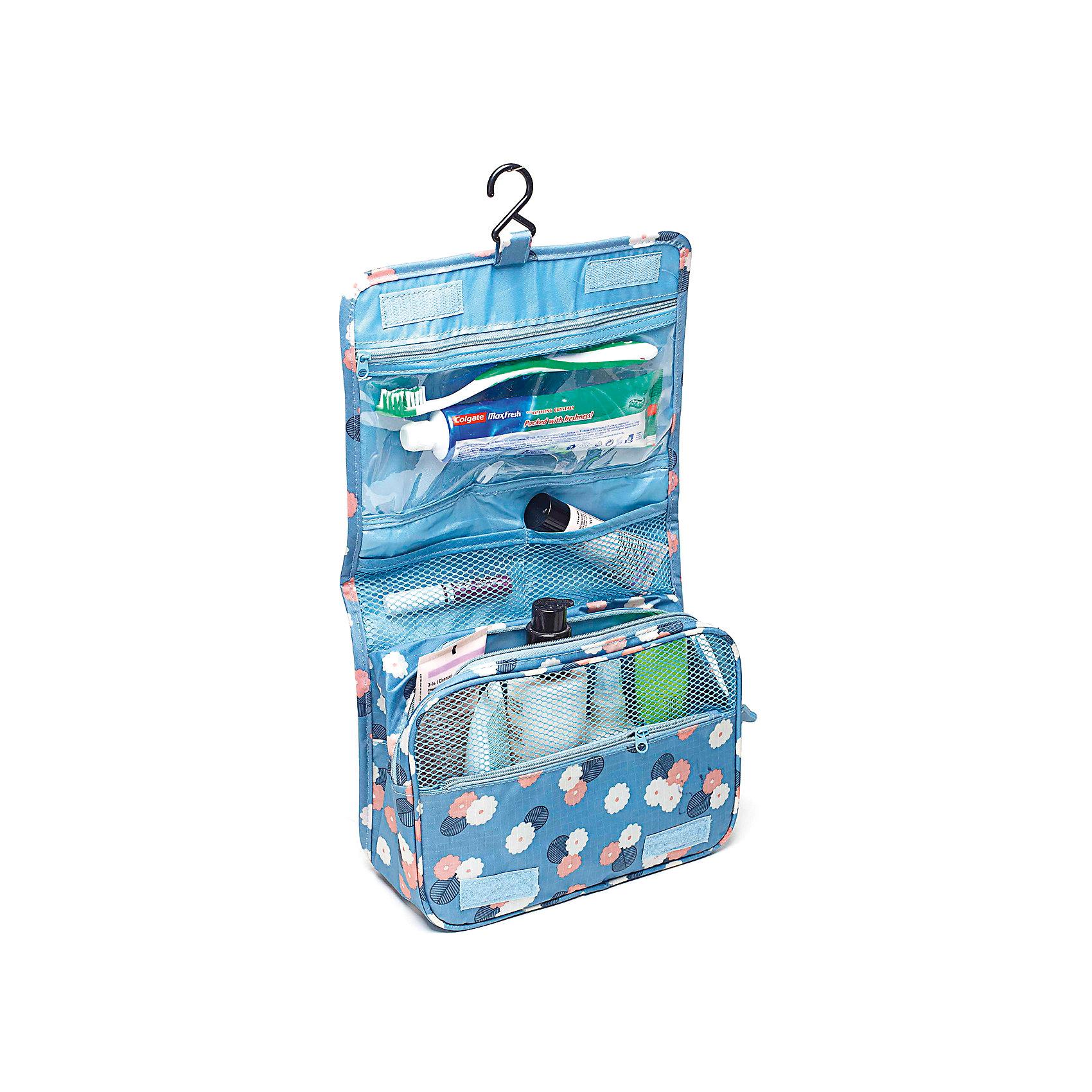 Органайзер в ванную подвесной Цветок, Homsu, синийВанная комната<br>Органайзер подвесной – это универсальное место для хранения вещей, с ним все нужное у вас будет под рукой. В таком органайзере, который обладает множеством кармашков и отделов, а также крючком для подвешивания, можно хранить различные предметы: белье, ванные принадлежности, аксессуары и прочие вещи. При необходимости органайзер можно сложить, закрыв сверху крышкой на двух липучках.<br><br>Ширина мм: 240<br>Глубина мм: 95<br>Высота мм: 185<br>Вес г: 200<br>Возраст от месяцев: 216<br>Возраст до месяцев: 1188<br>Пол: Унисекс<br>Возраст: Детский<br>SKU: 5620290