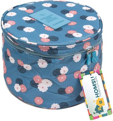 Органайзер круглый Цветок, Homsu, синий