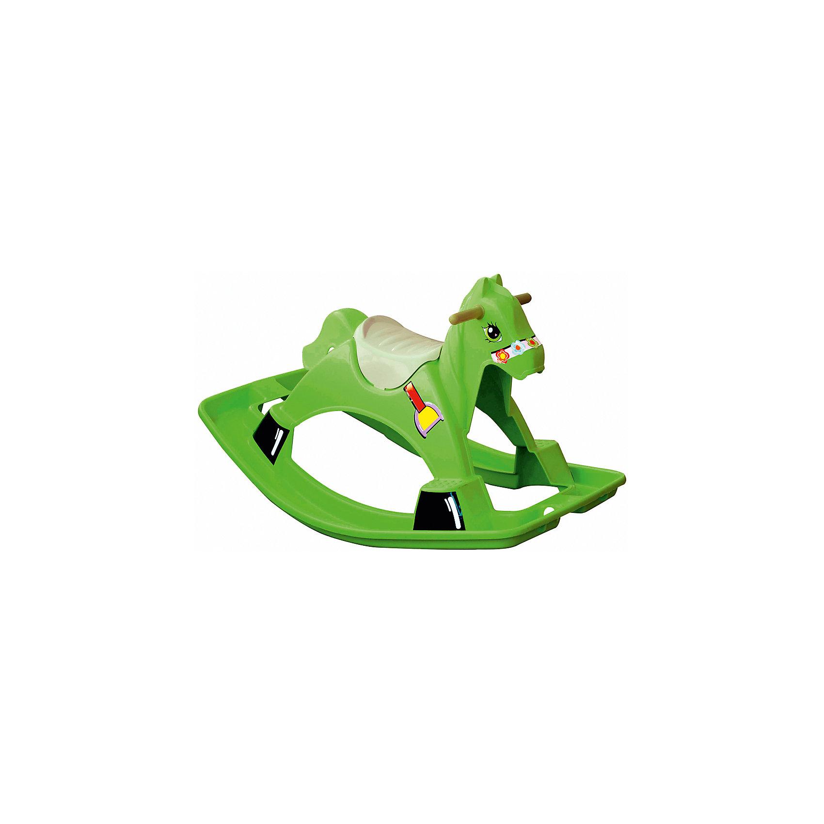 Качалка - Лошадка, Marianplast, зеленая