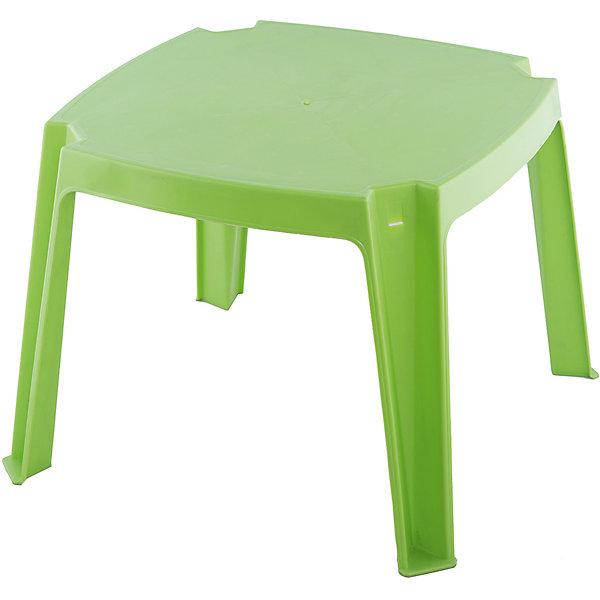 Стол без карманов, PalPlay, зеленыйДомики и мебель<br>Характеристики товара:<br><br>• возраст от 2 лет;<br>• материал: пластик;<br>• размер стола 53х53х42,5 см;<br>• размер упаковки 53х53х43 см;<br>• вес упаковки 1,58 кг;<br>• страна производитель: Израиль.<br><br>Стол без карманов Marian Plast зеленый — детский столик, который подойдет для пикника на свежем воздухе, а также для занятий или игр дома. Стол выполнен из качественного термостойкого пластика. По мере загрязнения протирается обычной влажной губкой.<br><br>Стол без карманов Marian Plast зеленый можно приобрести в нашем интернет-магазине.<br><br>Ширина мм: 530<br>Глубина мм: 530<br>Высота мм: 430<br>Вес г: 1580<br>Возраст от месяцев: 24<br>Возраст до месяцев: 72<br>Пол: Унисекс<br>Возраст: Детский<br>SKU: 5621470