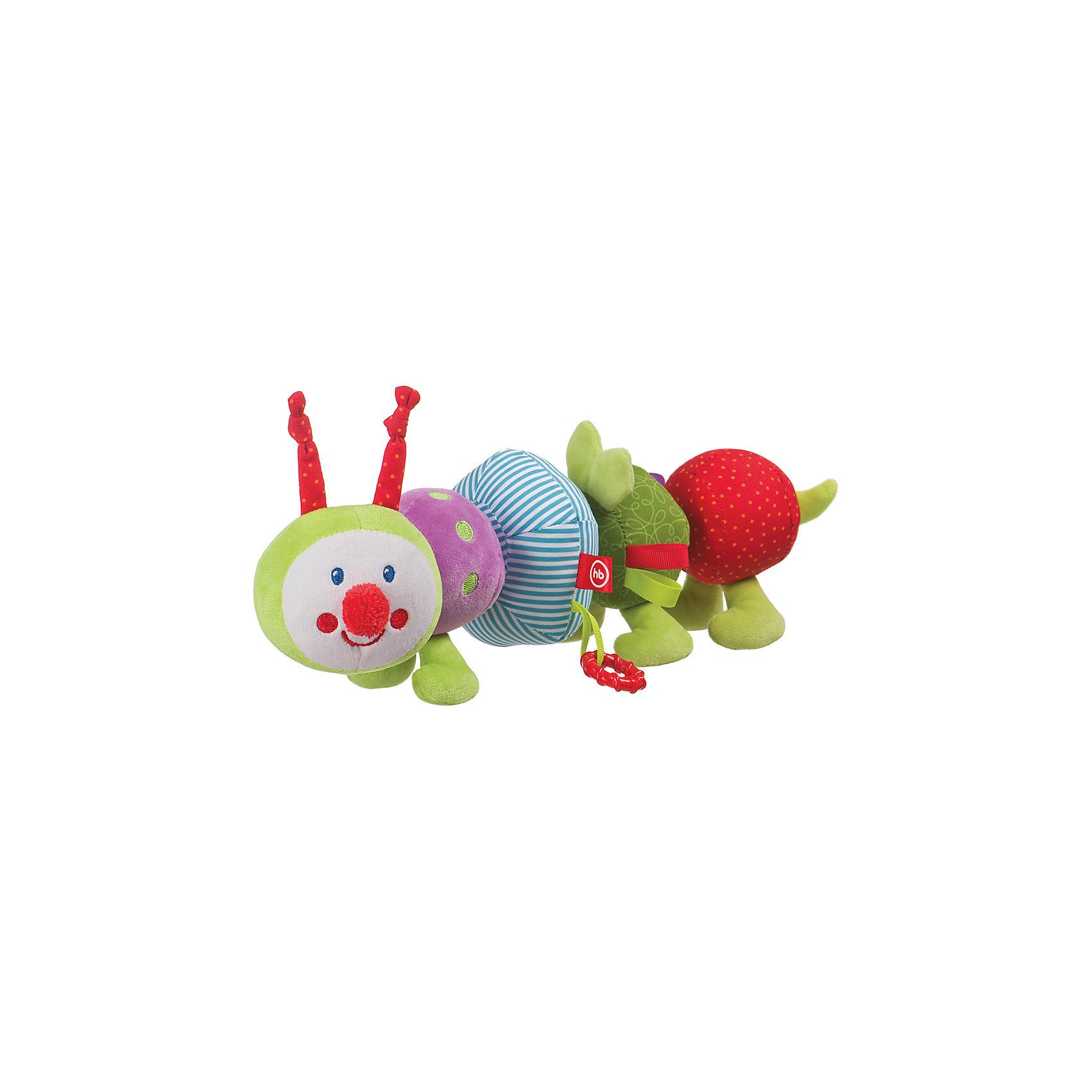 Развивающая игрушка  Iq-Caterpillar, Happy BabyРазвивающие игрушки<br>Характеристики:<br><br>• Вид игр: развивающие, обучающие<br>• Материал: полиэстер, хлопок, полимерный материал<br>• Тип крепления: петельки<br>• Наличие звуковых, шумовых эффектов<br>• Собирается по типу конструктора<br>• Вес: 186 г<br>• Параметры (Д*Ш*В): 8,4*8,4*27,8 см <br>• Особенности ухода: влажная и сухая чистка<br><br>Игрушка-погремушка Chatty Caterpillar, Happy Baby выполнена в виде забавной гусенички, которая состоит из отдельных элементов. Каждая часть гусеницы крепится к другой с помощью липучки, благодаря этому игрушку можно собирать используя разную последовательность и комбинации. Кроме того, элементы выполнены в разном цвете, фактуре и с различными звуковыми эффектами. Игры с такой   игрушкой будут способствовать зрительному и слуховому восприятию, координации движений, будут развивать мелкую моторику рук и эмоциональную сферу ребенка.   <br><br>Игрушку-погремушку Chatty Caterpillar, Happy Baby можно купить в нашем интернет-магазине.<br><br>Ширина мм: 84<br>Глубина мм: 84<br>Высота мм: 278<br>Вес г: 186<br>Возраст от месяцев: 3<br>Возраст до месяцев: 18<br>Пол: Унисекс<br>Возраст: Детский<br>SKU: 5621701