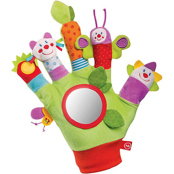 Купить Развивающая игрушка Перчатка Garden Inhabitants, Happy Baby, Китай, Унисекс