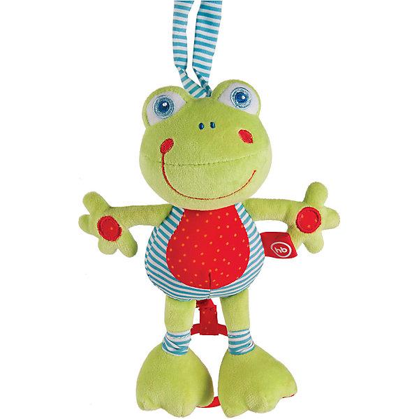 Игрушка мягконабивная Frolic Frogling, Happy babyДикие животные и птицы<br>Характеристики:<br><br>• Вид игр: развивающие, обучающие<br>• Материал: полиэстер, хлопок<br>• Тип крепления: завязки<br>• Наличие звуковых, шумовых эффектов<br>• Наличие вибрации<br>• Вес: 200 г<br>• Параметры (Д*Ш*В): 8*20,5*33,5 см <br>• Особенности ухода: влажная и сухая чистка<br><br>Игрушка мягконабивная Frolic Frogling, Happy baby выполнена в виде веселого лягушонка, у которого хвостик умеет расправляться и собираться по типу пружинки. Для этого достаточно потянуть за хвостик, он вытянется, а при возвращении к исходной длине игрушка вибрирует. Котик состоит из элементов разного цвета, фактуры и с различными звуковыми эффектами. Игры с такой игрушкой будут способствовать зрительному и слуховому восприятию, координации движений, будут развивать мелкую моторику рук и эмоциональную сферу ребенка.   <br><br>Игрушку мягконабивную Frolic Frogling, Happy baby можно купить в нашем интернет-магазине.<br>Ширина мм: 80; Глубина мм: 205; Высота мм: 335; Вес г: 200; Возраст от месяцев: 0; Возраст до месяцев: 18; Пол: Унисекс; Возраст: Детский; SKU: 5621715;