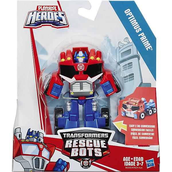 Трансформер, Playskool heroes, Optimus PrimeИдеи подарков<br>Характеристики товара:<br><br>• возраст от 3 лет;<br>• материал: пластик;<br>• высота робота 13 см;<br>• размер упаковки 24,1х16,2х5,8 см;<br>• вес упаковки 140 гр.;<br>• страна производитель: Китай.<br><br>Трансформеры-динозавры Playskool Heroes — персонажи известного фильма «Трансформеры» про роботов-трансформеров, которые превращаются а машины. Благодаря шарнирным механизмам игрушка легко трансформируется из робота в еще одну фигурку. С обеими фигурками можно придумывать увлекательные игры. Робот выполнен из качественного прочного пластика.<br><br>Трансформеров-динозавров Playskool Heroes можно приобрести в нашем интернет-магазине.<br><br>Ширина мм: 58<br>Глубина мм: 162<br>Высота мм: 241<br>Вес г: 140<br>Возраст от месяцев: 36<br>Возраст до месяцев: 84<br>Пол: Мужской<br>Возраст: Детский<br>SKU: 5622049