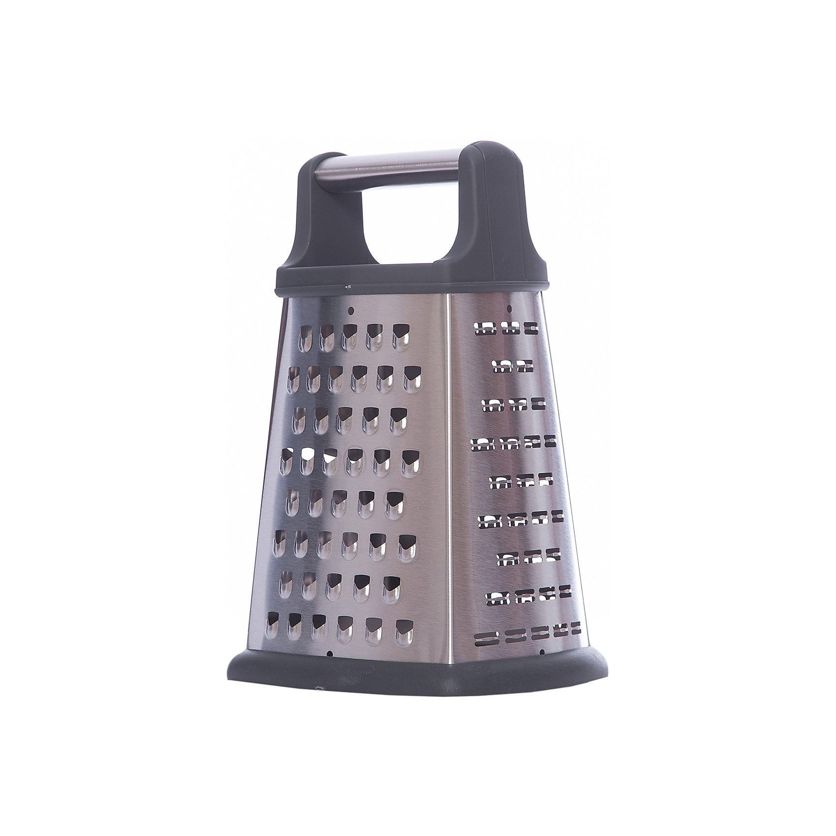 Терка четырехгранная LEO-GR-052-8, LeonordБытовая техника для кухни<br>Терка четырехгранная LEO-GR-052-8, высота: 20см,  стальная ручка  (TPR, нерж.сталь) Leonord<br><br>Ширина мм: 140<br>Глубина мм: 120<br>Высота мм: 210<br>Вес г: 367<br>Возраст от месяцев: 216<br>Возраст до месяцев: 1188<br>Пол: Унисекс<br>Возраст: Детский<br>SKU: 5622834