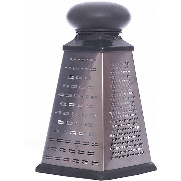 Терка четырехгранная LEO-GR-083-8, LeonordКухонная утварь<br>Терка четырехгранная LEO-GR-083-8, Leonord (Леонорд)<br><br>Характеристики:<br><br>• нескользящее основание<br>• материал: нержавеющая сталь<br>• высота терки: 20 см<br>• ручка: резина<br>• размер упаковки: 25х13х13 см<br>• вес: 565 грамм<br><br>Терка LEO-GR-083-8 поможет вам удобно и быстро измельчить овощи до нужной формы. Терка имеет четыре грани с лезвиями разных форм. Ручка имеет удобную форму, изготовлена из резины. Прорезиненное дно не будет скользить по столу во время использования. Терка изготовлена из нержавеющей стали, что придает изделию надежность и долговечность.<br><br>Терку четырехгранную LEO-GR-083-8, Leonord (Леонорд) можно купить в нашем интернет-магазине.<br>Ширина мм: 130; Глубина мм: 130; Высота мм: 250; Вес г: 565; Возраст от месяцев: 216; Возраст до месяцев: 1188; Пол: Унисекс; Возраст: Детский; SKU: 5622835;