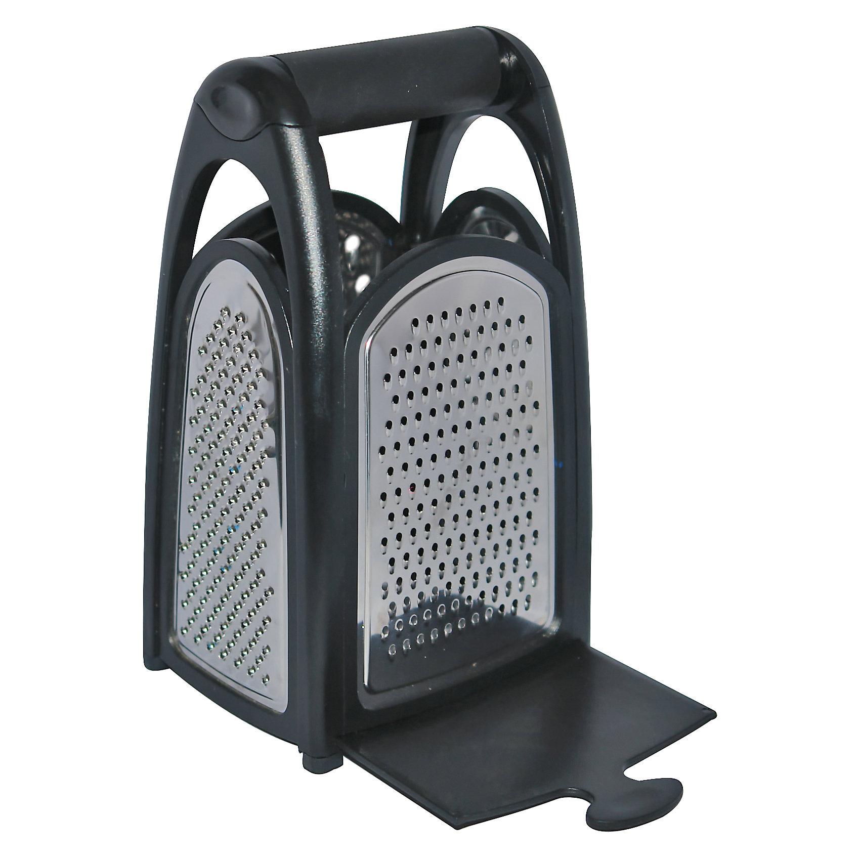Терка четырехгранная GR-037, MallonyБытовая техника для кухни<br>Терка четырехгранная GR-037, Mallony (Маллони)<br><br>Характеристики:<br><br>• удобный поддон<br>• прорезиненная ручка<br>• материал: нержавеющая сталь, пластик<br>• размер: 13,5х10х21,5 см<br>• размер упаковки: 21х10х13 см<br>• вес: 404 грамма<br><br>Терка GR-037 - незаменимый помощник к для каждой хозяйки. Она имеет четыре грани с разными лезвиями и поддон, убрав который, вы сможете быстро пересыпать овощи в кастрюлю или сковороду. Терка изготовлена из нержавеющей стали и имеет удобную прорезиненную ручку.<br><br>Терку четырехгранную GR-037, Mallony (Маллони) вы можете купить в нашем интернет-магазине.<br><br>Ширина мм: 130<br>Глубина мм: 100<br>Высота мм: 210<br>Вес г: 404<br>Возраст от месяцев: 216<br>Возраст до месяцев: 1188<br>Пол: Унисекс<br>Возраст: Детский<br>SKU: 5622844