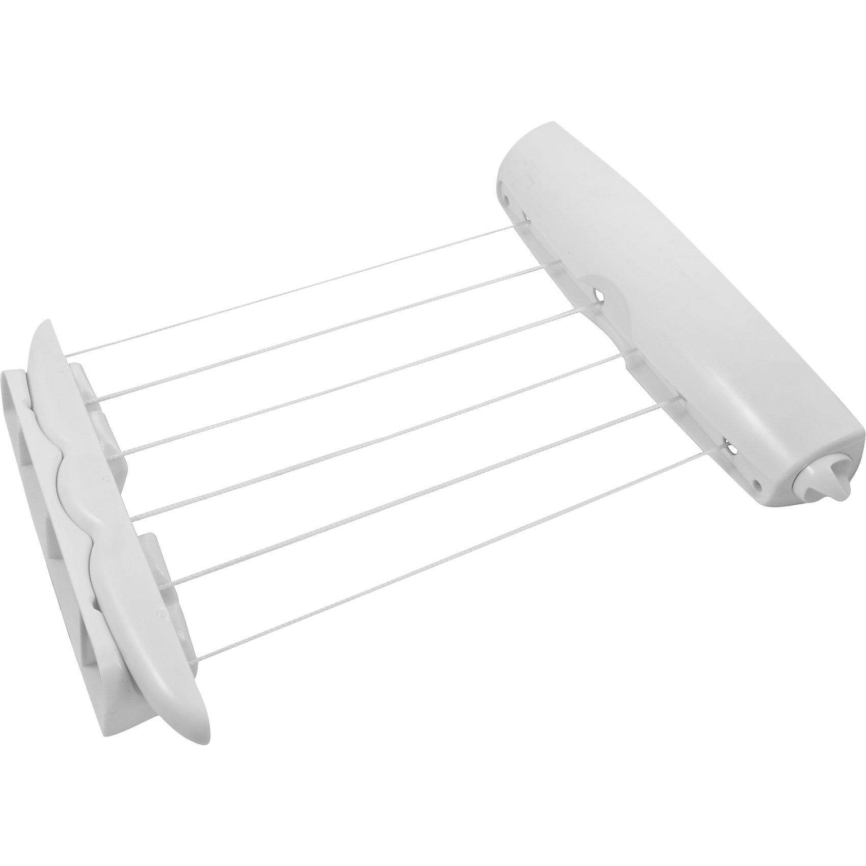 Сушилка для белья CD-2021 (настенная), Рыжий котВанная комната<br>Сушилка для белья CD-2021 (настенная), Рыжий кот<br><br>Характеристики:<br><br>• тип сушилки: настенная<br>• выдвижной элемент<br>• состоит из 6 веревок<br>• длина веревки: 3,5 м<br>• крепежные элементы в комплекте<br>• материал: пластик<br>• размер упаковки: 10х11х41 см<br>• вес: 839 грамм<br><br>Настенная сушилка CD-2021 подойдет для использования на балконе, в ванной или в коридоре. С настенной сушилкой вы сможете значительно сэкономить место в доме. Сушилка состоит из шести нитей длиной 3,5 метра. Выдвижной элемент позволяет регулировать размер сушилки в случае необходимости. Крепежные элементы для сушилки входят в комплект.<br><br>Сушилку для белья CD-2021 (настенная), Рыжий кот вы можете купить в нашем интернет-магазине.<br><br>Ширина мм: 410<br>Глубина мм: 110<br>Высота мм: 100<br>Вес г: 839<br>Возраст от месяцев: 216<br>Возраст до месяцев: 1188<br>Пол: Унисекс<br>Возраст: Детский<br>SKU: 5622870