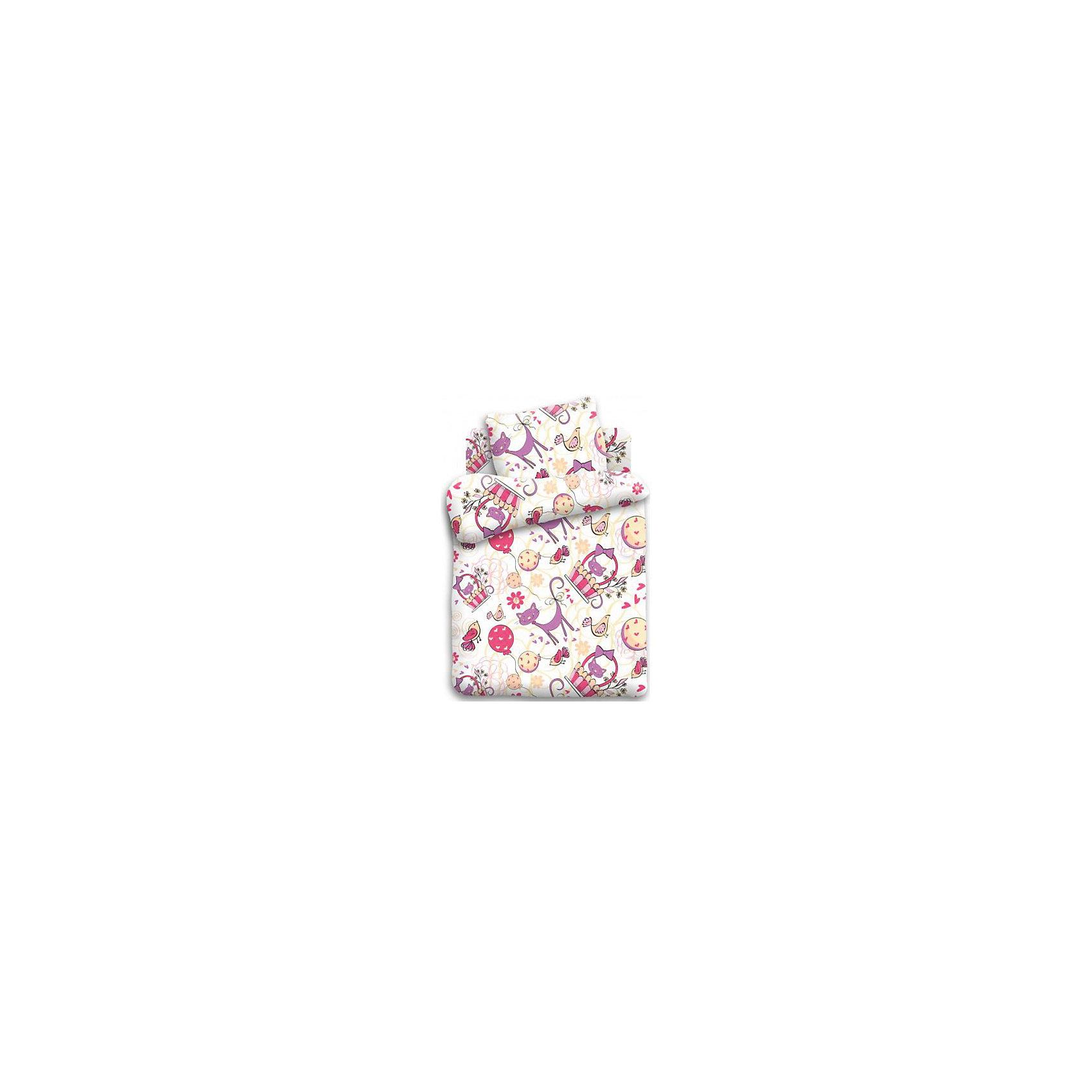 Постельное белье 1,5 Мурка, бязь, Кошки-мышки, (нав 70*70)Домашний текстиль<br>Характеристики:<br><br>• Вид домашнего текстиля: постельное белье<br>• Тип постельного белья по размерам: 1,5 спальное<br>• Материал: хлопок, 100% <br>• Тематика рисунка: кошки<br>• Комплектация: <br> пододеяльник 215*143 см – 1 шт. <br> простынь 150*214 см– 1 шт. <br> наволочка 70*70 см – 1 шт. <br>• Тип упаковки: картонная коробка <br>• Вес в упаковке: 1 кг 200 г<br>• Размеры упаковки (Д*Ш*В): 50*25*50 см<br>• Особенности ухода: допускается интенсивная машинная стирка без использования красящих и отбеливающих веществ<br><br>Постельное белье 1,5 Мурка, бязь, Кошки-мышки, (нав 70*70) выполнено в стильном дизайне с изображением фантазийных кошечек. Все внутренние швы изделий тщательно обработаны. Комплект упакован в брендовую картонную коробку, поэтому его можно преподнести в качестве подарка на любой праздник или торжество.<br><br>Постельное белье 1,5 Мурка, бязь, Кошки-мышки, (нав 70*70) можно купить в нашем интернет-магазине.<br><br>Ширина мм: 500<br>Глубина мм: 250<br>Высота мм: 500<br>Вес г: 1200<br>Возраст от месяцев: 36<br>Возраст до месяцев: 144<br>Пол: Женский<br>Возраст: Детский<br>SKU: 5623421