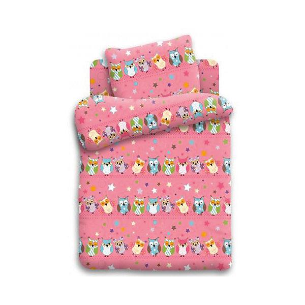 Постельное белье 1,5 Совы, бязь, Кошки-мышки (нав 70*70)Детское постельное бельё<br>Характеристики:<br><br>• Вид домашнего текстиля: постельное белье<br>• Тип постельного белья по размерам: 1,5 спальное<br>• Материал: хлопок, 100% <br>• Тематика рисунка: совушки<br>• Комплектация: <br> пододеяльник 215*143 см – 1 шт. <br> простынь 150*214 см– 1 шт. <br> наволочка 70*70 см – 1 шт. <br>• Тип упаковки: картонная коробка <br>• Вес в упаковке: 1 кг 200 г<br>• Размеры упаковки (Д*Ш*В): 50*25*50 см<br>• Особенности ухода: допускается интенсивная машинная стирка без использования красящих и отбеливающих веществ<br><br>Постельное белье 1,5 Совы, бязь, Кошки-мышки (нав 70*70) выполнено в стильном дизайне: на розовом полотне изображены разноцветные совушки. Комплект упакован в брендовую картонную коробку, поэтому его можно преподнести в качестве подарка на любой праздник или торжество.<br><br>Постельное белье 1,5 Совы, бязь, Кошки-мышки (нав 70*70) можно купить в нашем интернет-магазине.<br><br>Ширина мм: 500<br>Глубина мм: 250<br>Высота мм: 500<br>Вес г: 1200<br>Возраст от месяцев: 36<br>Возраст до месяцев: 144<br>Пол: Женский<br>Возраст: Детский<br>SKU: 5623423