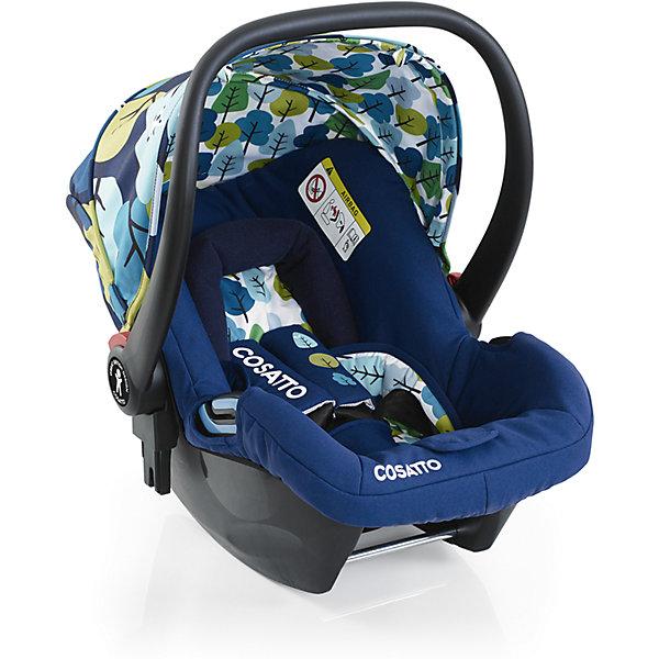Автокресло Cosatto Hold 0-13 кг, NightbirdГруппа 0+  (до 13 кг)<br>Характеристики автокресла Hold Cosatto:<br><br>• группа 0+;<br>• вес ребенка: до 13 кг;<br>• возраст ребенка: от рождения до 12 месяцев;<br>• способ установки: против хода движения автомобиля;<br>• способ крепления: штатными ремнями безопасности автомобиля;<br>• есть возможность установить автокресло на базу с системой крепления Isofix - база приобретается отдельно;<br>• 5-ти точечные ремни безопасности с мягкими накладками;<br>• регулируемый защитный капор;<br>• анатомический вкладыш для новорожденного;<br>• в комплекте с автокреслом идет дождевик;<br>• пластиковая ручка, автолюлька используется как переноска, положение ручки меняется;<br>• автокресло можно использовать как кресло-качалку;<br>• чтобы зафиксировать кресло, необходимо изменить положение ручки и создать упор в пол;<br>• съемные чехлы, стирка при температуре 30 градусов;<br>• материал: пластик, полиэстер;<br>• стандарт безопасности: ЕСЕ R44/03.<br><br>Размер автокресла, ДхШхВ: 70х44х60 см<br>Вес автокресла: 4,2 кг<br><br>Автокресло Hold Cosatto устанавливается как против хода движения автомобиля на заднем сиденье. Глубокая чаша просторная, малышу удобно находится в кресле даже в теплом комбинезоне. Анатомический вкладыш с подголовником снимается. Автокресло соответствует европейским стандартам безопасности. Авктокресло можно установить на раму коляски Cosatto. Адаптеры для установки автокресла на шасси коляски входят в комплект.<br><br>Автокресло 0-13 кг., HOLD, COSATTO можно купить в нашем интернет-магазине.<br><br>Ширина мм: 740<br>Глубина мм: 440<br>Высота мм: 380<br>Вес г: 6000<br>Возраст от месяцев: -2147483648<br>Возраст до месяцев: 2147483647<br>Пол: Унисекс<br>Возраст: Детский<br>SKU: 5629485