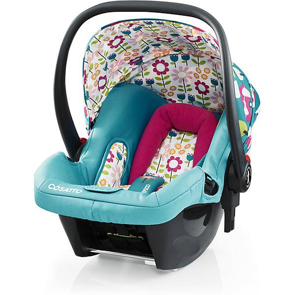 Автокресло Cosatto Hold 0-13 кг, Happy CampersГруппа 0+  (до 13 кг)<br>Характеристики автокресла Hold Cosatto:<br><br>• группа 0+;<br>• вес ребенка: до 13 кг;<br>• возраст ребенка: от рождения до 12 месяцев;<br>• способ установки: против хода движения автомобиля;<br>• способ крепления: штатными ремнями безопасности автомобиля;<br>• есть возможность установить автокресло на базу с системой крепления Isofix - база приобретается отдельно;<br>• 5-ти точечные ремни безопасности с мягкими накладками;<br>• регулируемый защитный капор;<br>• анатомический вкладыш для новорожденного;<br>• в комплекте с автокреслом идет дождевик;<br>• пластиковая ручка, автолюлька используется как переноска, положение ручки меняется;<br>• автокресло можно использовать как кресло-качалку;<br>• чтобы зафиксировать кресло, необходимо изменить положение ручки и создать упор в пол;<br>• съемные чехлы, стирка при температуре 30 градусов;<br>• материал: пластик, полиэстер;<br>• стандарт безопасности: ЕСЕ R44/03.<br><br>Размер автокресла, ДхШхВ: 70х44х60 см<br>Вес автокресла: 4,2 кг<br><br>Автокресло Hold Cosatto устанавливается как против хода движения автомобиля на заднем сиденье. Глубокая чаша просторная, малышу удобно находится в кресле даже в теплом комбинезоне. Анатомический вкладыш с подголовником снимается. Автокресло соответствует европейским стандартам безопасности. Авктокресло можно установить на раму коляски Cosatto. Адаптеры для установки автокресла на шасси коляски входят в комплект.<br><br>Автокресло 0-13 кг., HOLD, COSATTO можно купить в нашем интернет-магазине.<br>Ширина мм: 740; Глубина мм: 440; Высота мм: 380; Вес г: 6000; Возраст от месяцев: -2147483648; Возраст до месяцев: 2147483647; Пол: Унисекс; Возраст: Детский; SKU: 5629487;