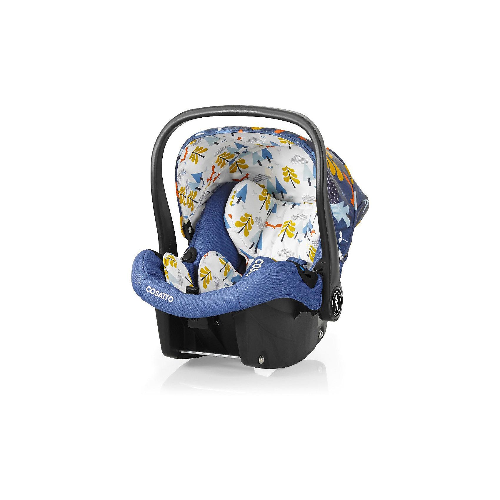 Автокресло Cosatto Port, 0-13 кг., Fox TaleГруппа 0+ (До 13 кг)<br>Характеристики:<br><br>• группа: 0+;<br>• вес ребенка: до 13 кг;<br>• возраст: от рождения до 18 месяцев;<br>• соответствует нормам безопасности  ECE R44/04;<br>• установка: против хода движения автомобиля;<br>• может крепиться штатным автомобильным ремнем или устанавливаться на одну из баз Cosatto (Isofix и для 3-точечного ремня);<br>• совместимо с шасси колясок Cosatto Ooba, Fly, Wish, Wow, Woop;<br>• можно использовать как переноску или люльку;<br>• 3-точечные внутренние ремни имеют 2 положения;<br>• плечевые и нагрудные подушечки;<br>• анатомический вкладыш;<br>• специальная подушка для головы;<br>• усиленная боковая защита;<br>• ударопрочный пластик;<br>• солнцезащитный съемный козырек из ткани;<br>• ручка для переноски;<br>• сзади расположен бардачок;<br>• гипоаллергенный материал обивки;<br>• съемный чехол можно стирать при температуре 30 градусов;<br>• материал: пластик, полиэстер.<br><br>Габариты автокресла: 70х60х44 см.<br>Вес автокресла: 3 кг.<br><br>Автокресло разработано для безопасной перевозки малышей в салоне автомобиля. Представленную модель можно использовать не только как авто-люльку, а и устанавливать на шасси коляски, что очень удобно на прогулке за городом. Продуманная до мелочей система безопасности максимально защищает малыша во время движения. Автокресло устанавливается на сиденье и крепится при помощи штатного ремня безопасности автомобиля либо устанавливается на специальную базу (приобретается отдельно). <br><br>Автокресло Port 0-13 кг., Cosatto, Fox Tale можно купить в нашем интернет-магазине.<br><br>Ширина мм: 750<br>Глубина мм: 450<br>Высота мм: 390<br>Вес г: 6000<br>Возраст от месяцев: -2147483648<br>Возраст до месяцев: 2147483647<br>Пол: Унисекс<br>Возраст: Детский<br>SKU: 5629491