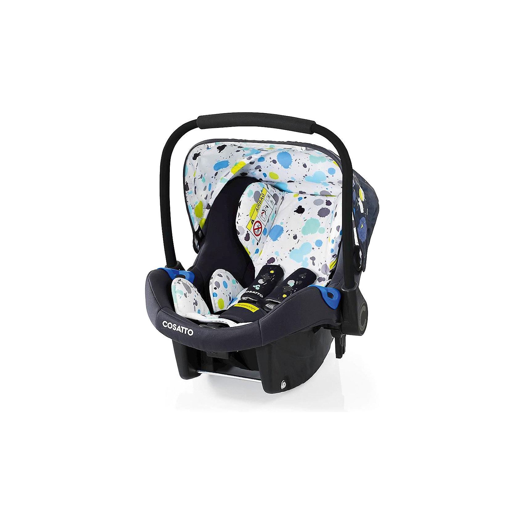 Автокресло Cosatto Port, 0-13 кг., BerlinГруппа 0+ (До 13 кг)<br>Характеристики:<br><br>• группа: 0+;<br>• вес ребенка: до 13 кг;<br>• возраст: от рождения до 18 месяцев;<br>• соответствует нормам безопасности  ECE R44/04;<br>• установка: против хода движения автомобиля;<br>• может крепиться штатным автомобильным ремнем или устанавливаться на одну из баз Cosatto (Isofix и для 3-точечного ремня);<br>• совместимо с шасси колясок Cosatto Ooba, Fly, Wish, Wow, Woop;<br>• можно использовать как переноску или люльку;<br>• 3-точечные внутренние ремни имеют 2 положения;<br>• плечевые и нагрудные подушечки;<br>• анатомический вкладыш;<br>• специальная подушка для головы;<br>• усиленная боковая защита;<br>• ударопрочный пластик;<br>• солнцезащитный съемный козырек из ткани;<br>• ручка для переноски;<br>• сзади расположен бардачок;<br>• гипоаллергенный материал обивки;<br>• съемный чехол можно стирать при температуре 30 градусов;<br>• материал: пластик, полиэстер.<br><br>Габариты автокресла: 70х60х44 см.<br>Вес автокресла: 3 кг.<br><br>Автокресло разработано для безопасной перевозки малышей в салоне автомобиля. Представленную модель можно использовать не только как авто-люльку, а и устанавливать на шасси коляски, что очень удобно на прогулке за городом. Продуманная до мелочей система безопасности максимально защищает малыша во время движения. Автокресло устанавливается на сиденье и крепится при помощи штатного ремня безопасности автомобиля либо устанавливается на специальную базу (приобретается отдельно). <br><br>Автокресло Port 0-13 кг., Cosatto, Berlin можно купить в нашем интернет-магазине.<br><br>Ширина мм: 750<br>Глубина мм: 450<br>Высота мм: 390<br>Вес г: 6000<br>Возраст от месяцев: -2147483648<br>Возраст до месяцев: 2147483647<br>Пол: Унисекс<br>Возраст: Детский<br>SKU: 5629493