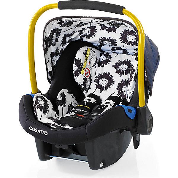 Автокресло Cosatto Port, 0-13 кг., SunburstГруппа 0+  (до 13 кг)<br>Характеристики:<br><br>• группа: 0+;<br>• вес ребенка: до 13 кг;<br>• возраст: от рождения до 18 месяцев;<br>• соответствует нормам безопасности  ECE R44/04;<br>• установка: против хода движения автомобиля;<br>• может крепиться штатным автомобильным ремнем или устанавливаться на одну из баз Cosatto (Isofix и для 3-точечного ремня);<br>• совместимо с шасси колясок Cosatto Ooba, Fly, Wish, Wow, Woop;<br>• можно использовать как переноску или люльку;<br>• 3-точечные внутренние ремни имеют 2 положения;<br>• плечевые и нагрудные подушечки;<br>• анатомический вкладыш;<br>• специальная подушка для головы;<br>• усиленная боковая защита;<br>• ударопрочный пластик;<br>• солнцезащитный съемный козырек из ткани;<br>• ручка для переноски;<br>• сзади расположен бардачок;<br>• гипоаллергенный материал обивки;<br>• съемный чехол можно стирать при температуре 30 градусов;<br>• материал: пластик, полиэстер.<br><br>Габариты автокресла: 70х60х44 см.<br>Вес автокресла: 3 кг.<br><br>Автокресло разработано для безопасной перевозки малышей в салоне автомобиля. Представленную модель можно использовать не только как авто-люльку, а и устанавливать на шасси коляски, что очень удобно на прогулке за городом. Продуманная до мелочей система безопасности максимально защищает малыша во время движения. Автокресло устанавливается на сиденье и крепится при помощи штатного ремня безопасности автомобиля либо устанавливается на специальную базу (приобретается отдельно). <br><br>Автокресло Port 0-13 кг., Cosatto, Sunburst можно купить в нашем интернет-магазине.<br><br>Ширина мм: 750<br>Глубина мм: 450<br>Высота мм: 390<br>Вес г: 6000<br>Возраст от месяцев: -2147483648<br>Возраст до месяцев: 2147483647<br>Пол: Унисекс<br>Возраст: Детский<br>SKU: 5629496